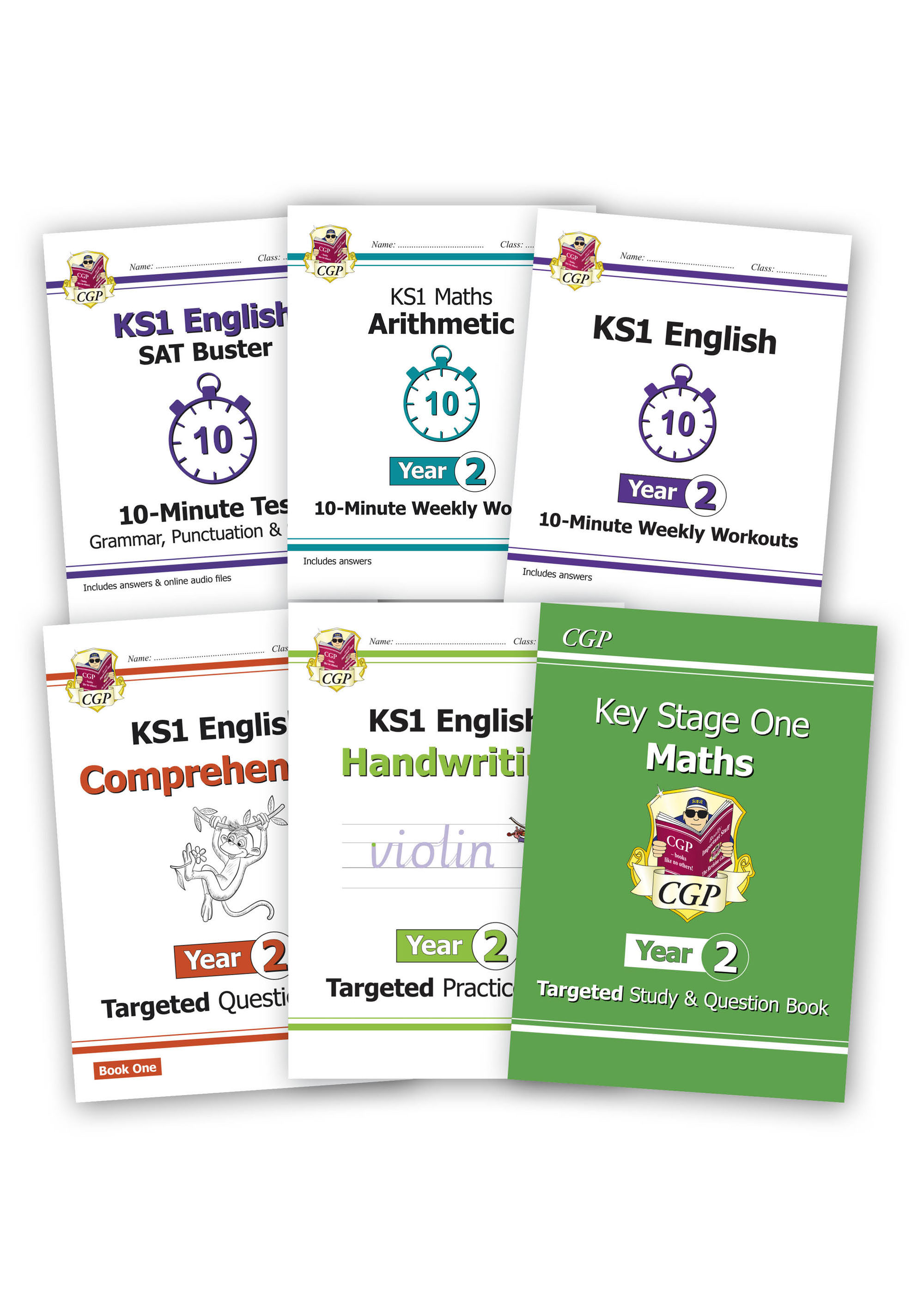 EM2HSB16 - Year 2 Home Learning Bundle: Maths & English