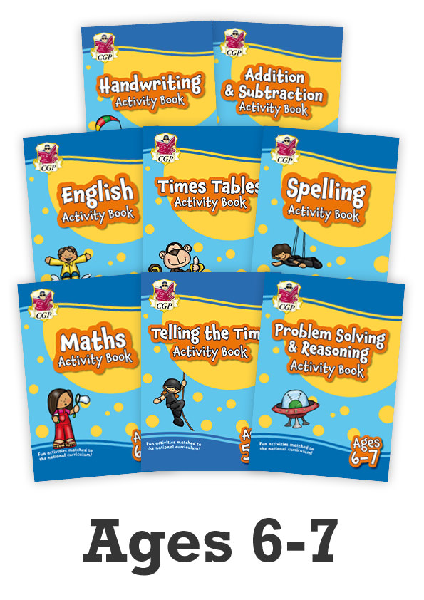 EMPF2B12 - New Ages 6-7 Activity Books - 8-book bundle