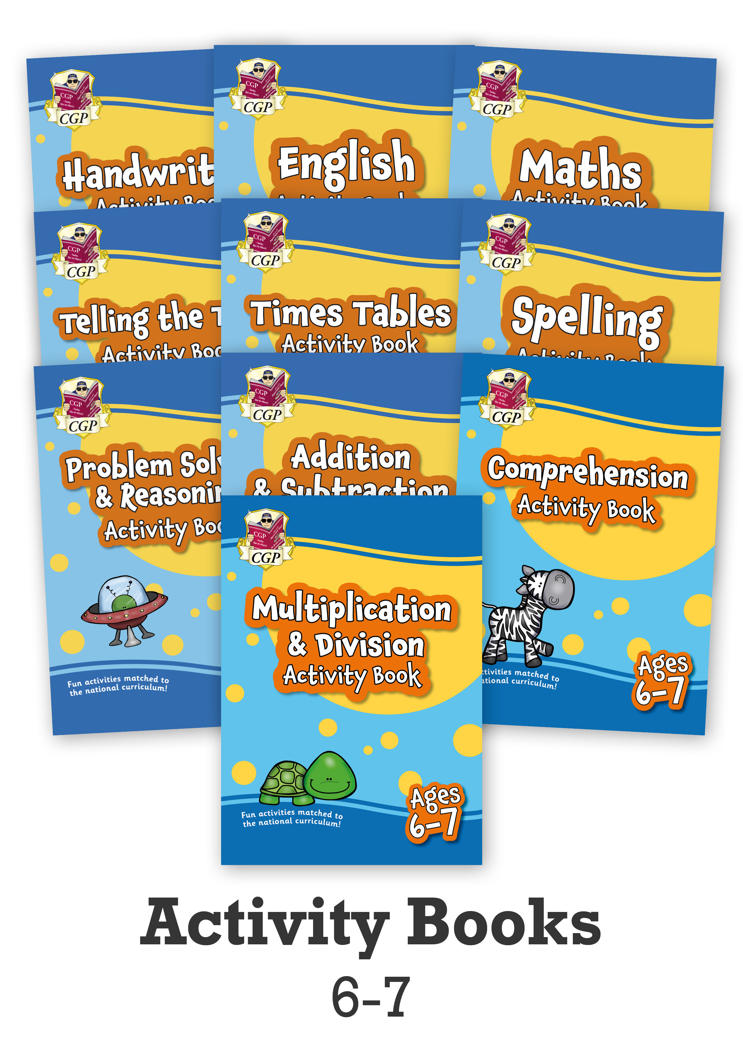 EMPF2B13 - New Ages 6-7 Activity Books - 10-book bundle