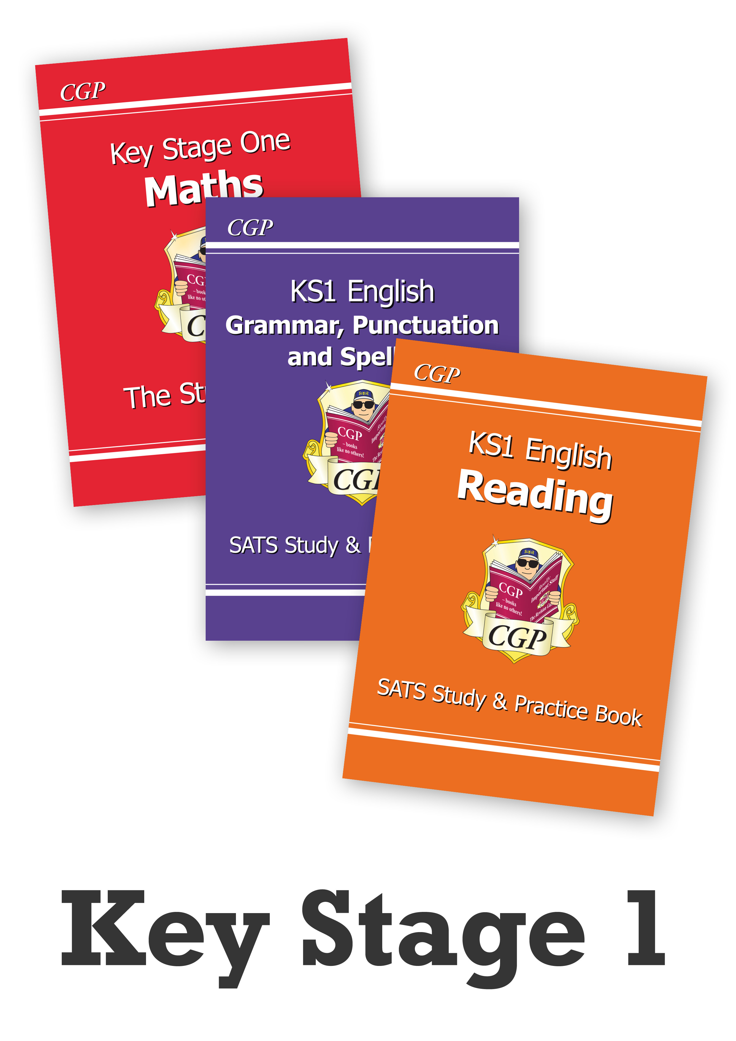 EMSTBB11 - Key Stage One Home Learning Essentials: Study Book Bundle - Ages 5-7