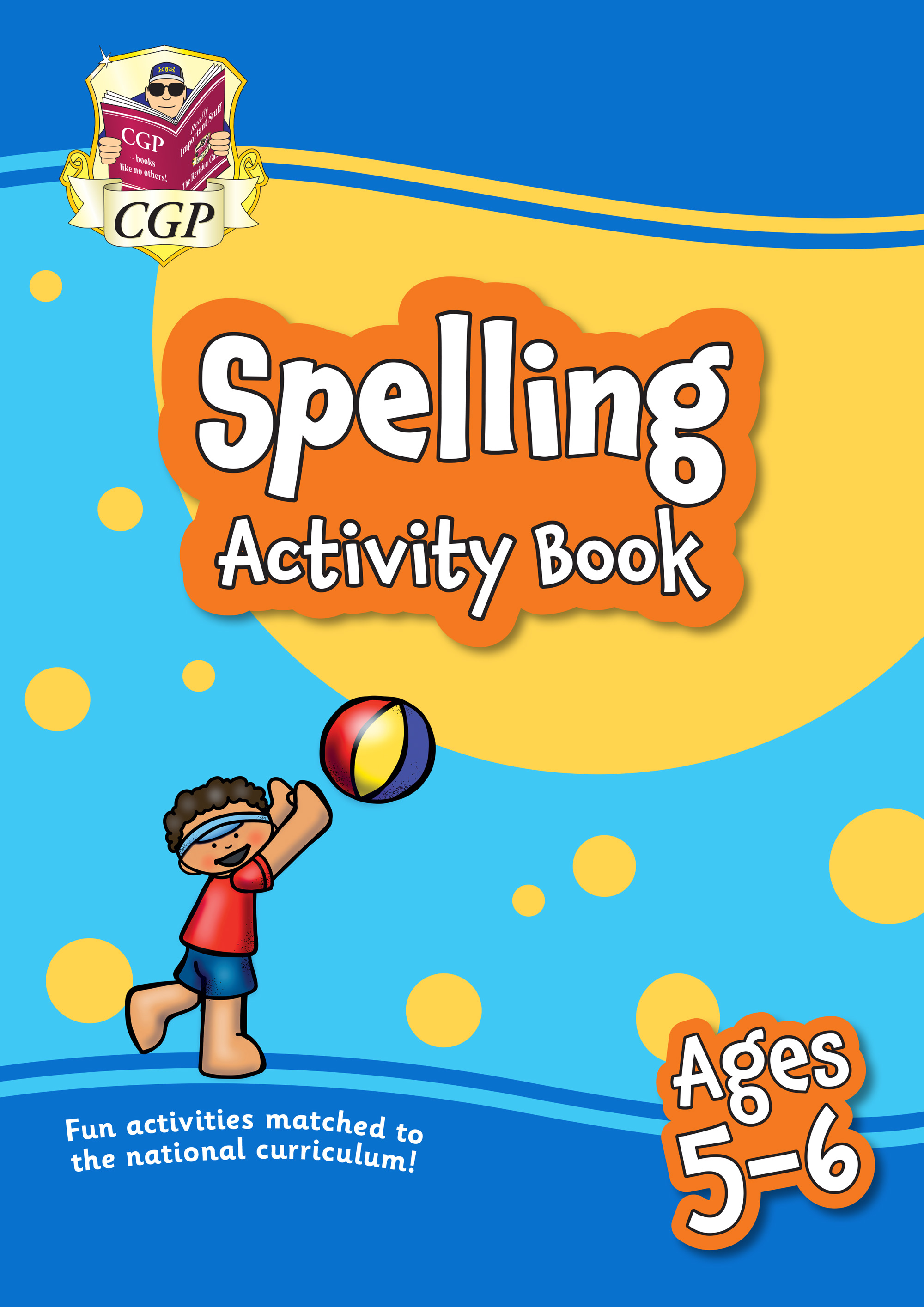 EPFS1Q11 - New Spelling Home Learning Activity Book for Ages 5-6
