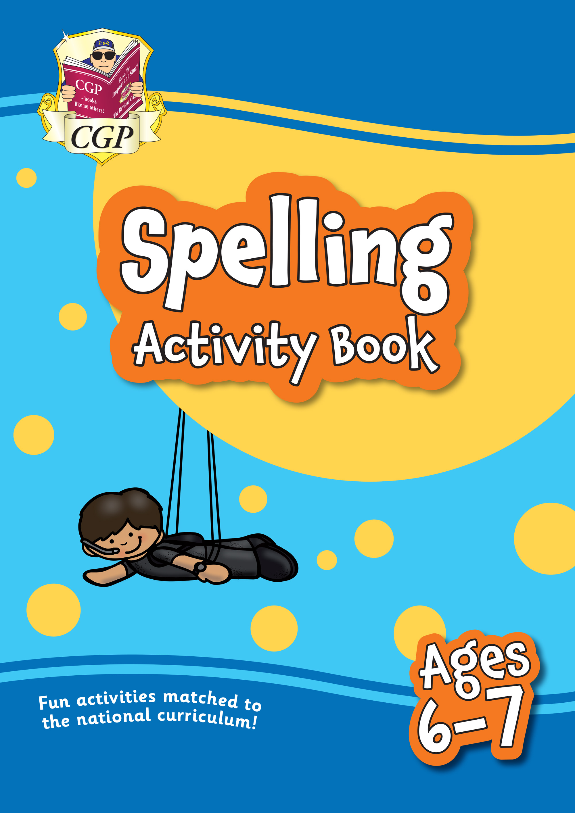 EPFS2Q11 - New Spelling Home Learning Activity Book for Ages 6-7