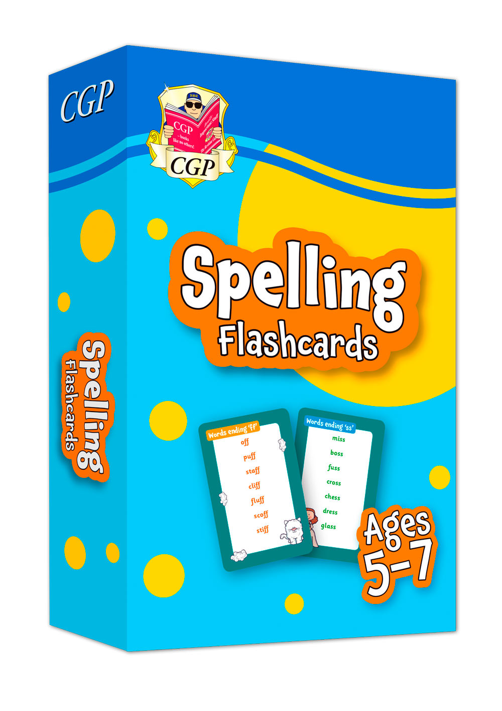 EPFSF11 - New Spelling Home Learning Flashcards for Ages 5-7