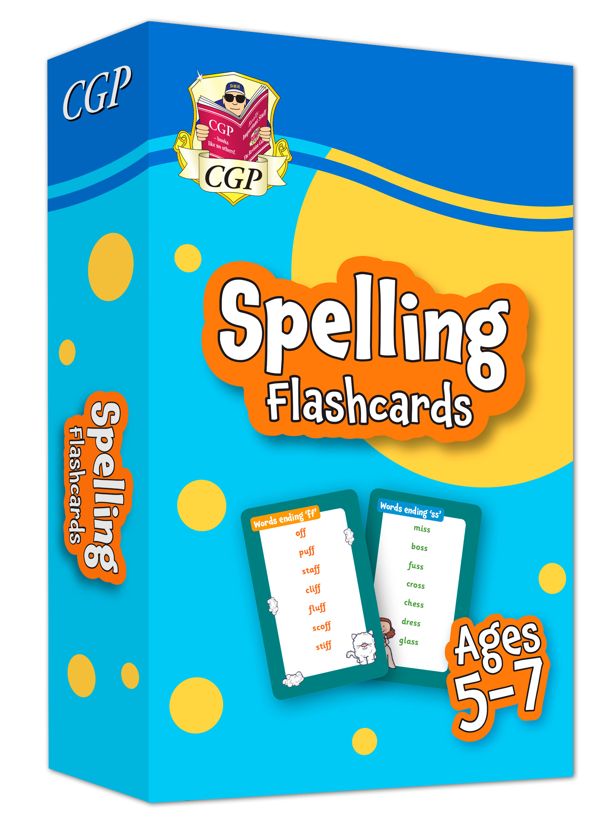 EPFSF11DK - New Spelling Home Learning Flashcards for Ages 5-7