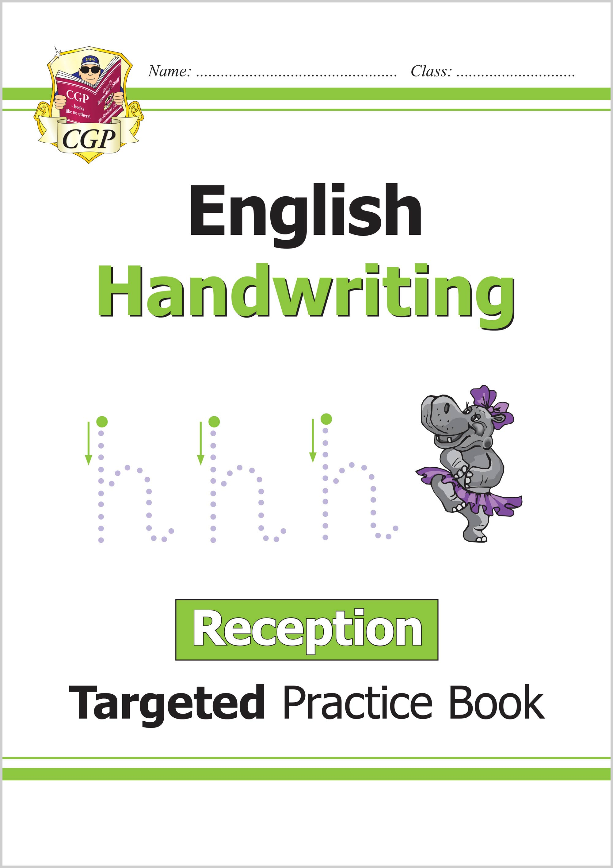 English Targeted Practice Book: Handwriting - Reception CGP Books