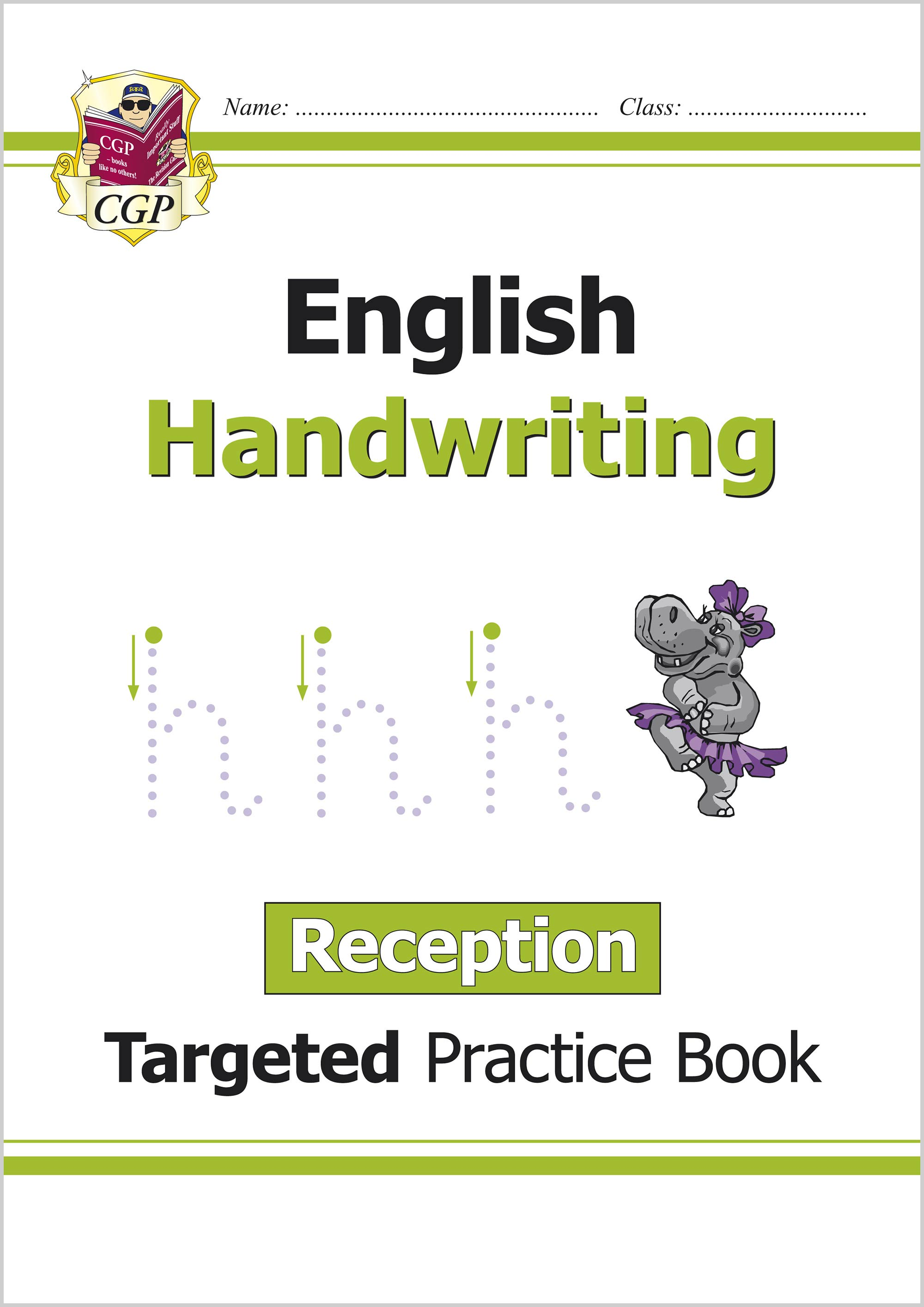 ERHW11 - English Targeted Practice Book: Handwriting - Reception