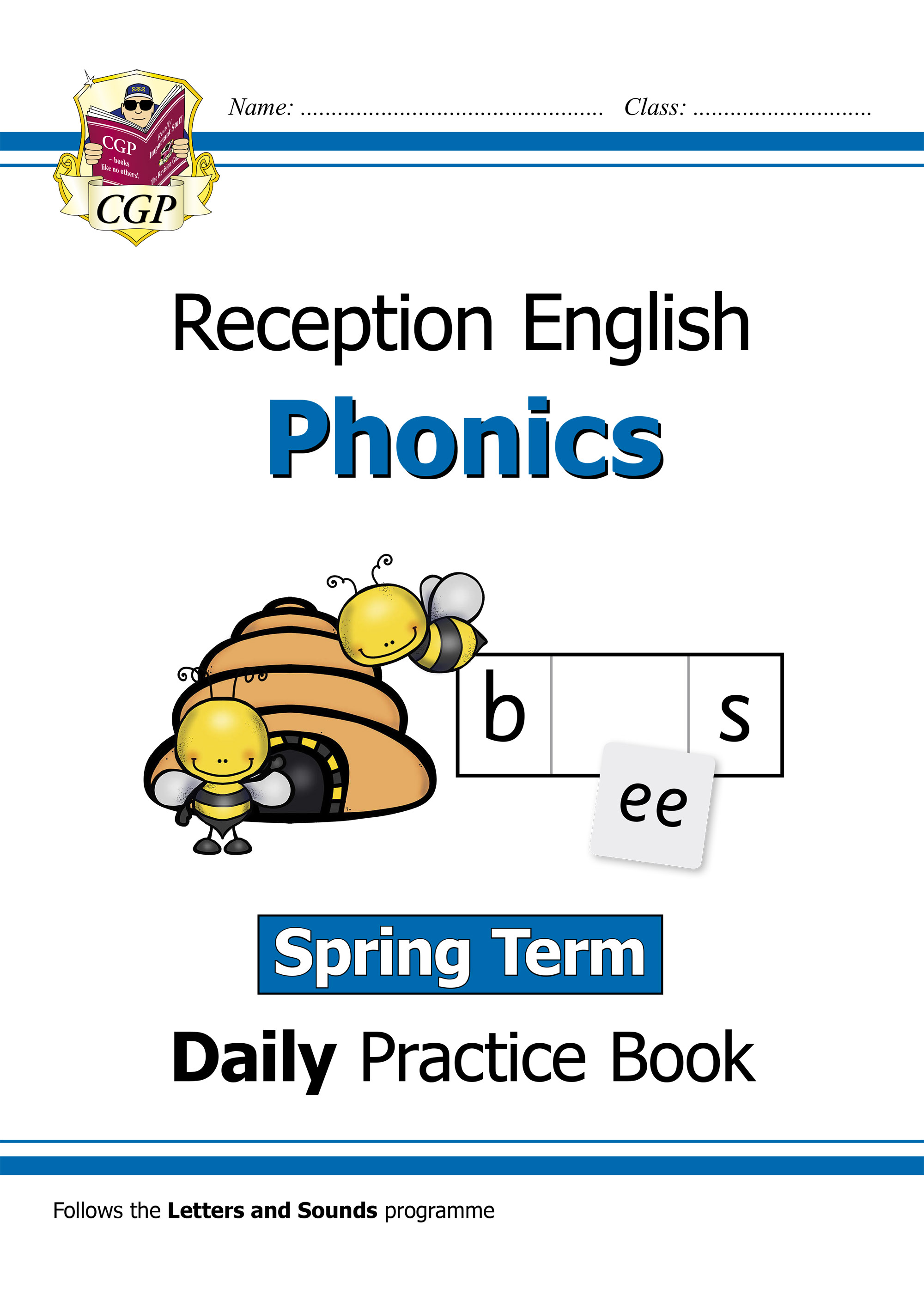 EROWSP11D - New Phonics Daily Practice Book: Reception - Spring Term Online Edition