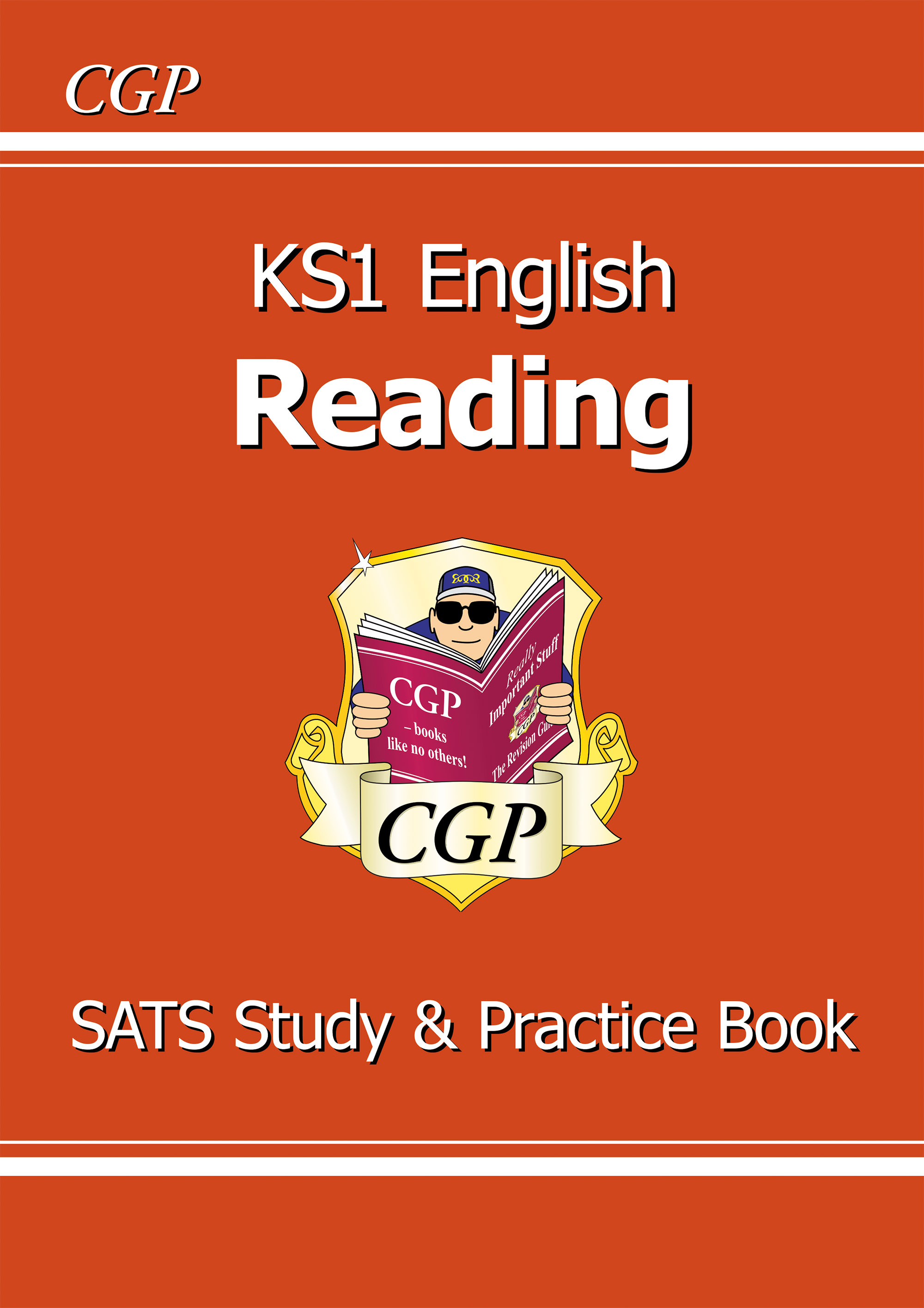 ERR11DK - KS1 English Reading Study & Practice Book