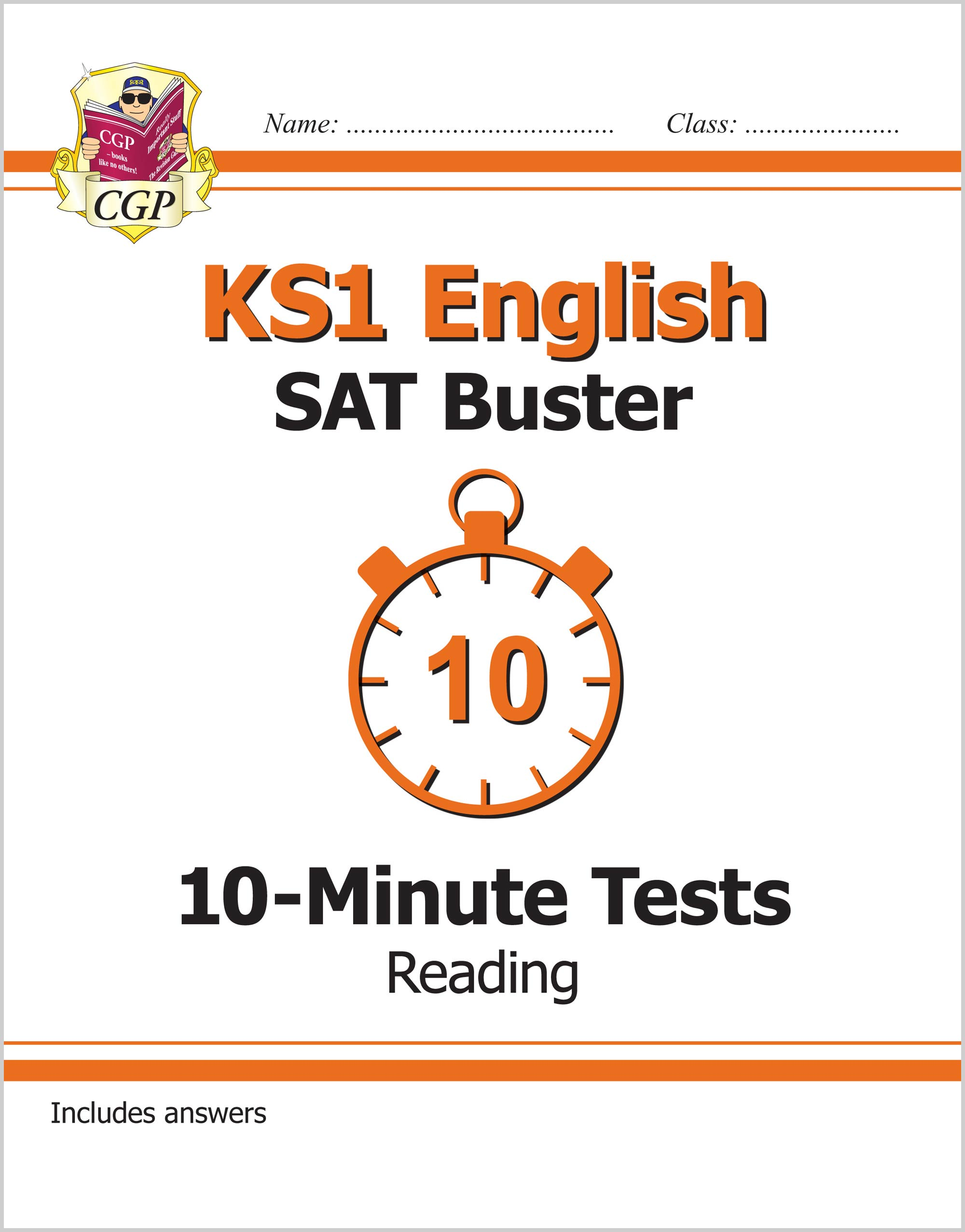 EXPR11 - KS1 English SAT Buster 10-Minute Tests: Reading (for the 2019 tests)