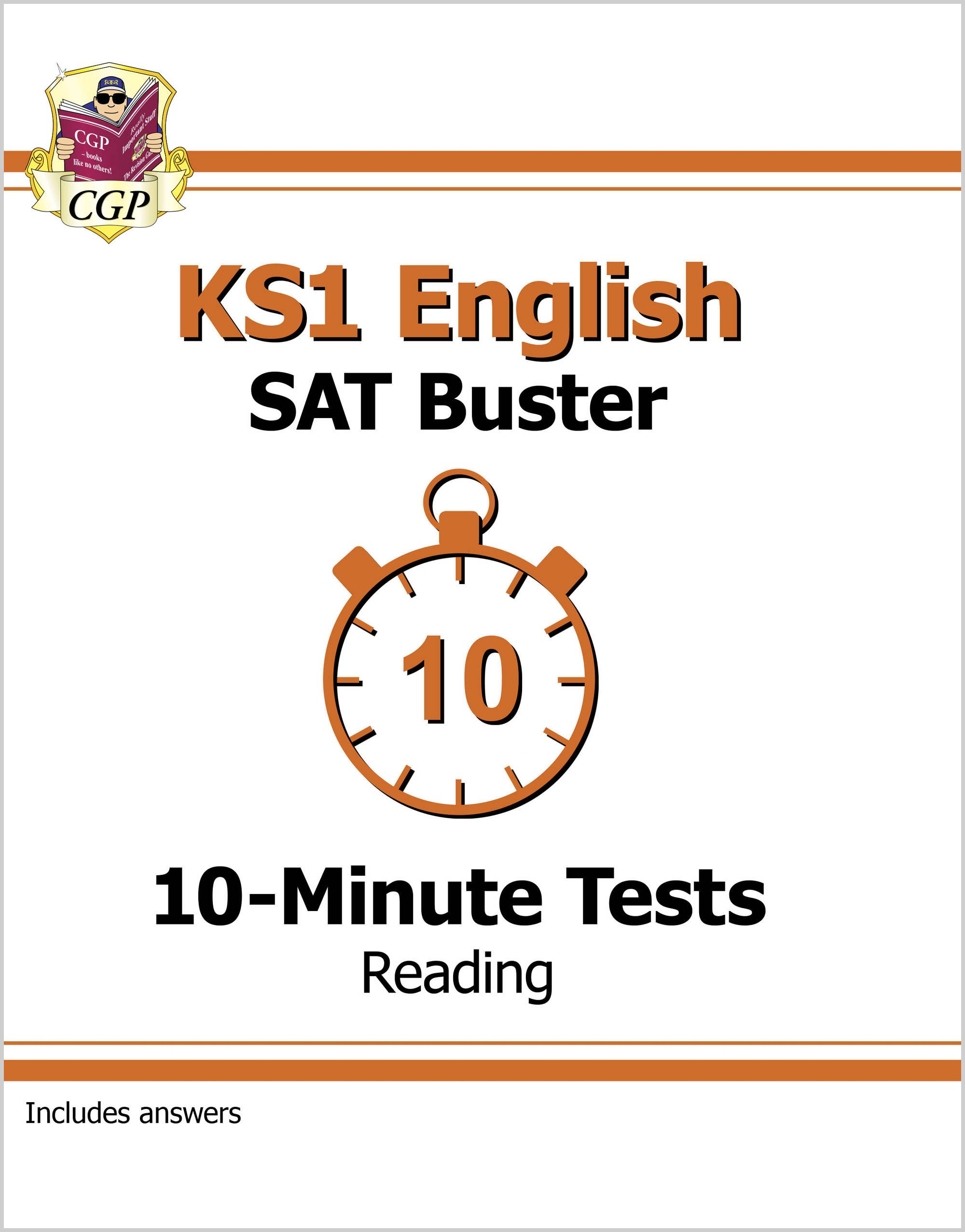 EXPR11DK - KS1 English SAT Buster 10-Minute Tests: Reading (for the 2020 tests)