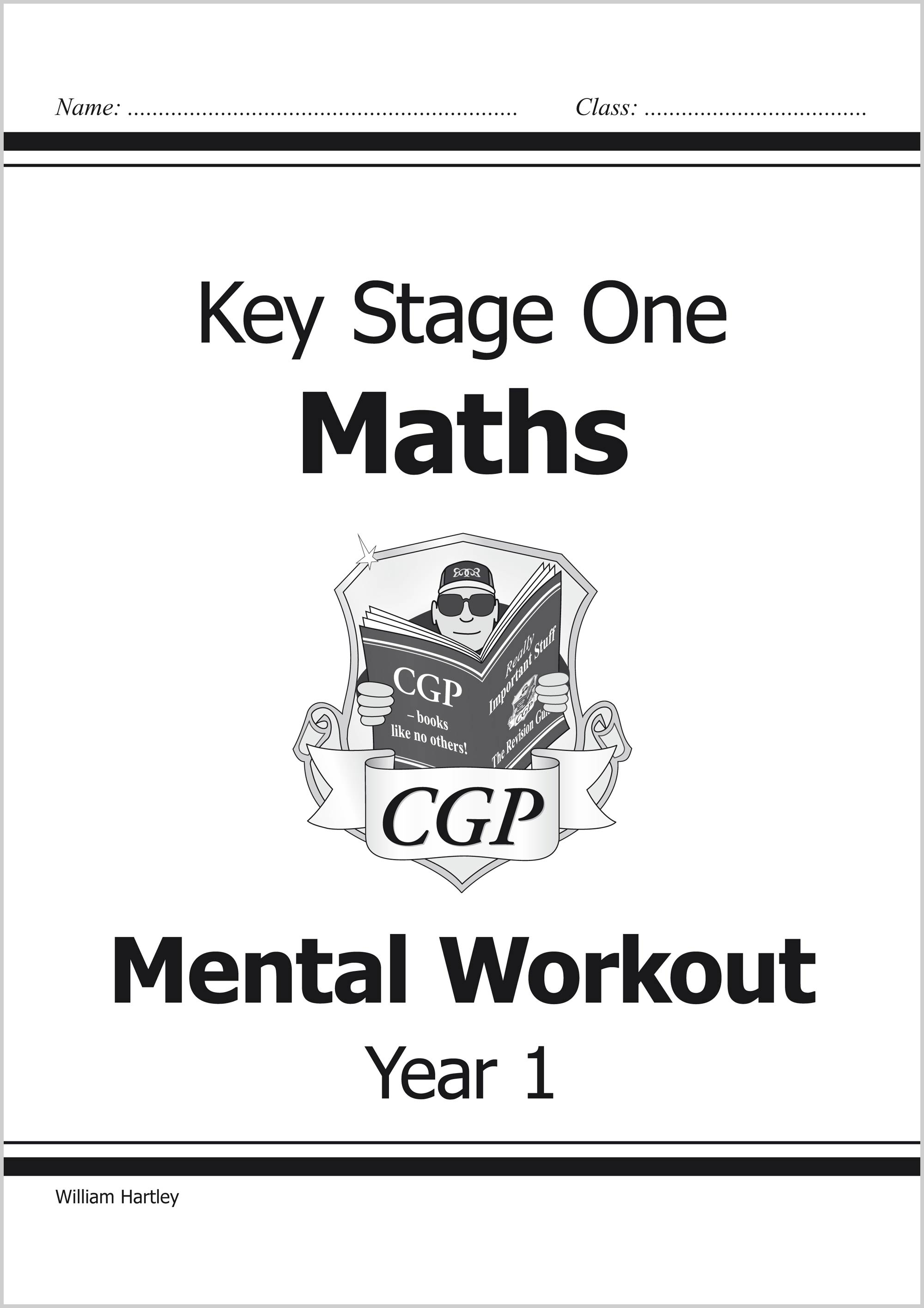 M1MA12 - KS1 Mental Maths Workout - Year 1