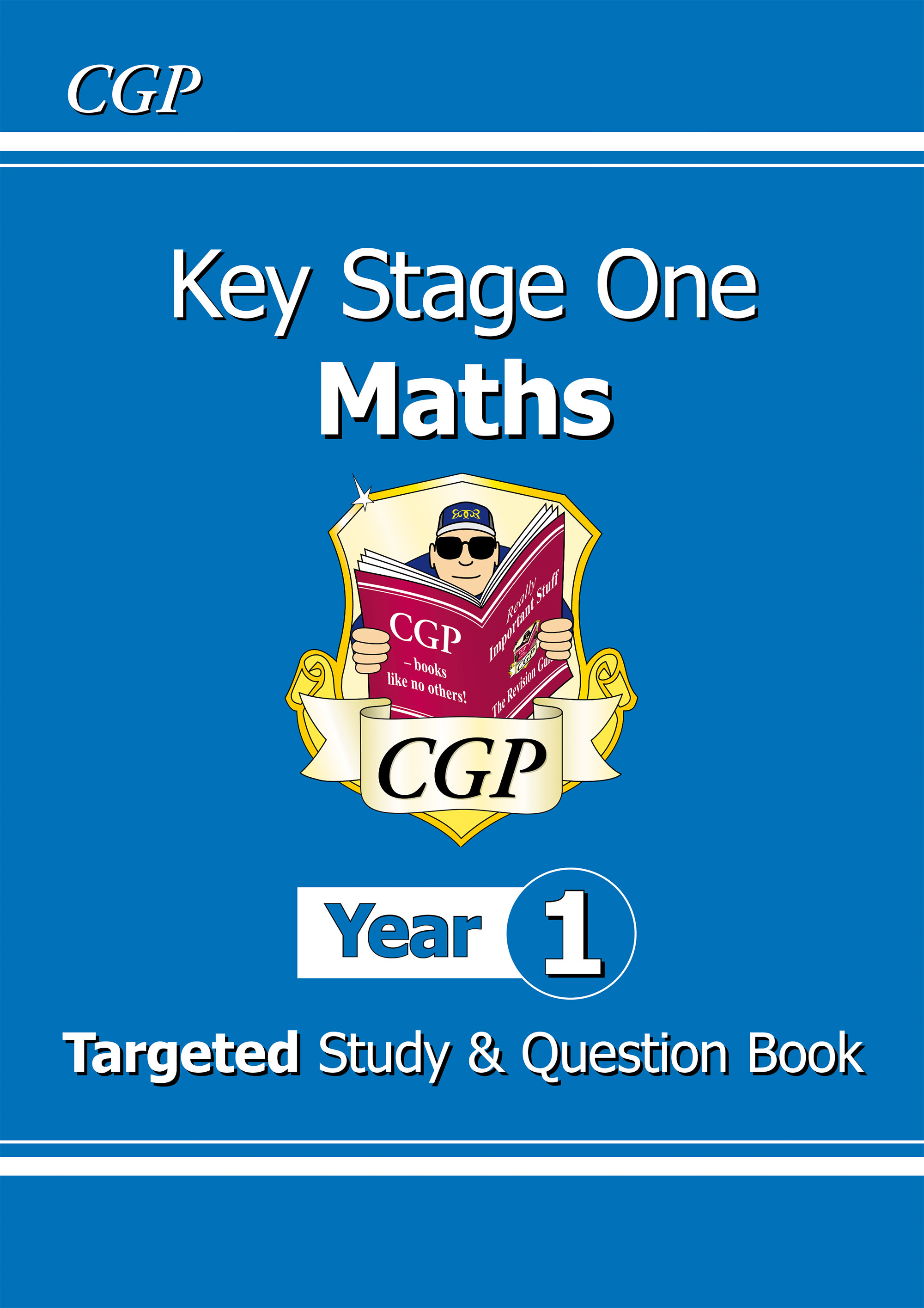 M1R11DK - KS1 Maths Targeted Study & Question Book - Year 1