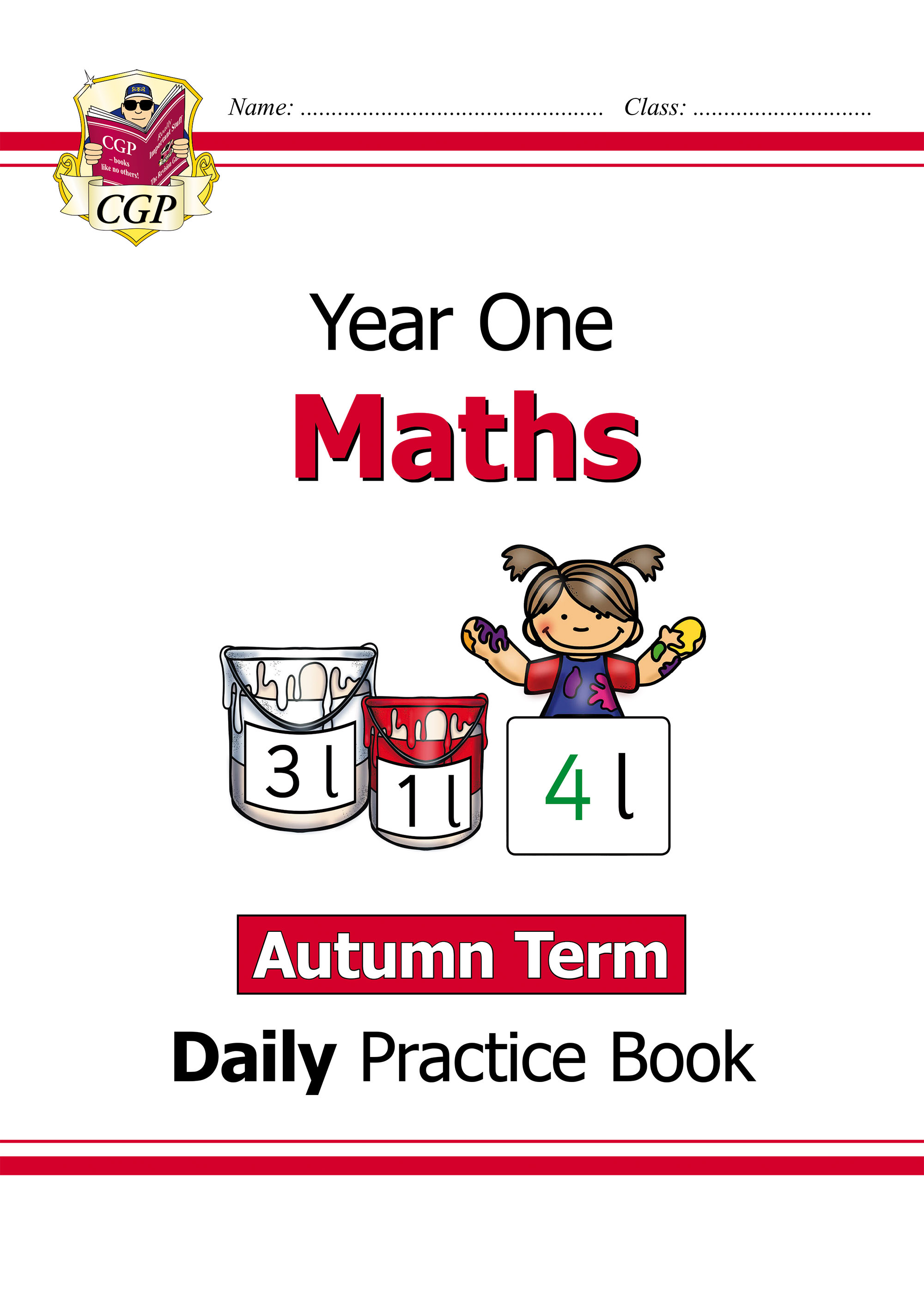 M1WAU11D - New KS1 Maths Daily Practice Book: Year 1 - Autumn Term Online Edition