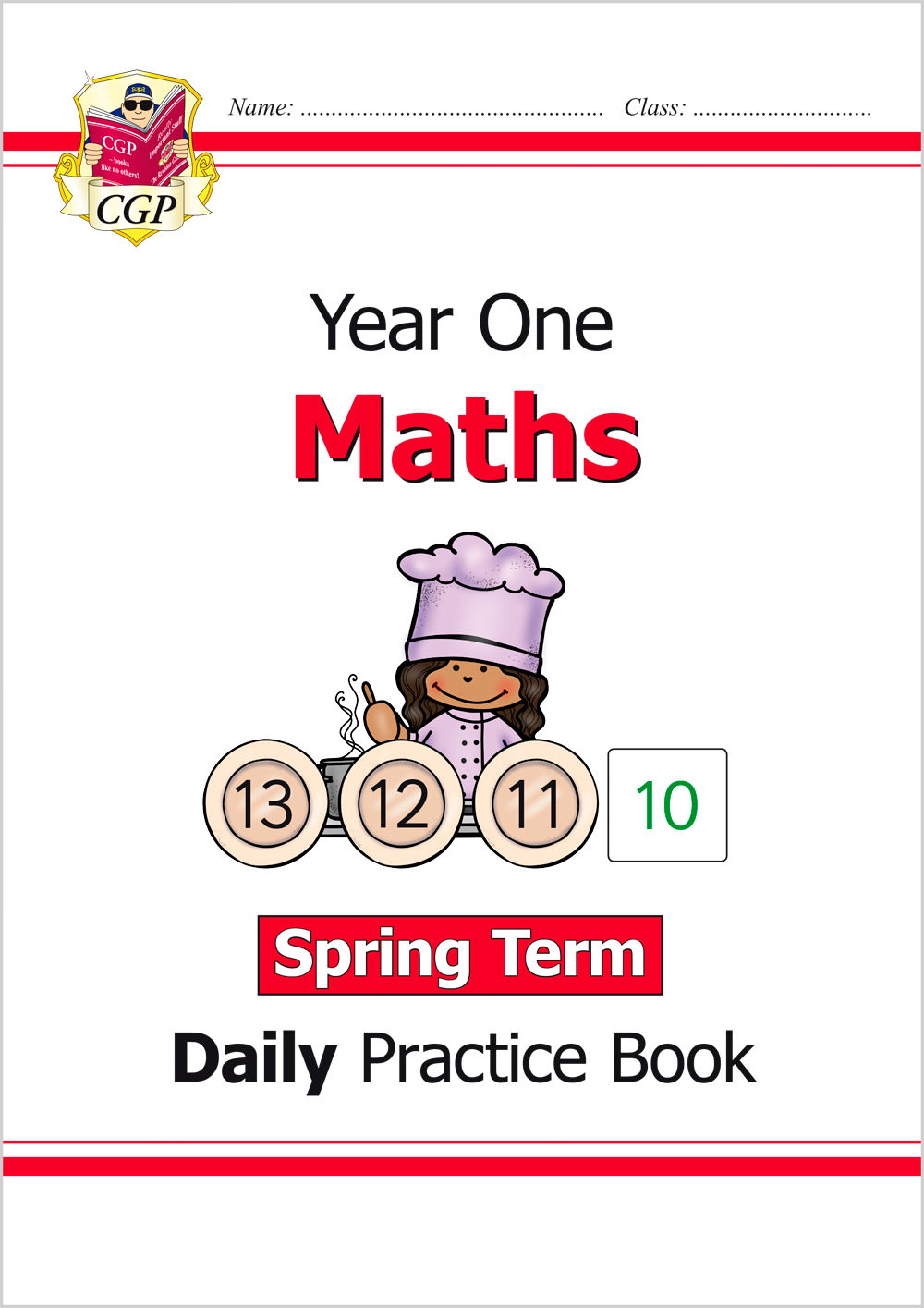 M1WSP11 - New KS1 Maths Daily Practice Book: Year 1 - Spring Term