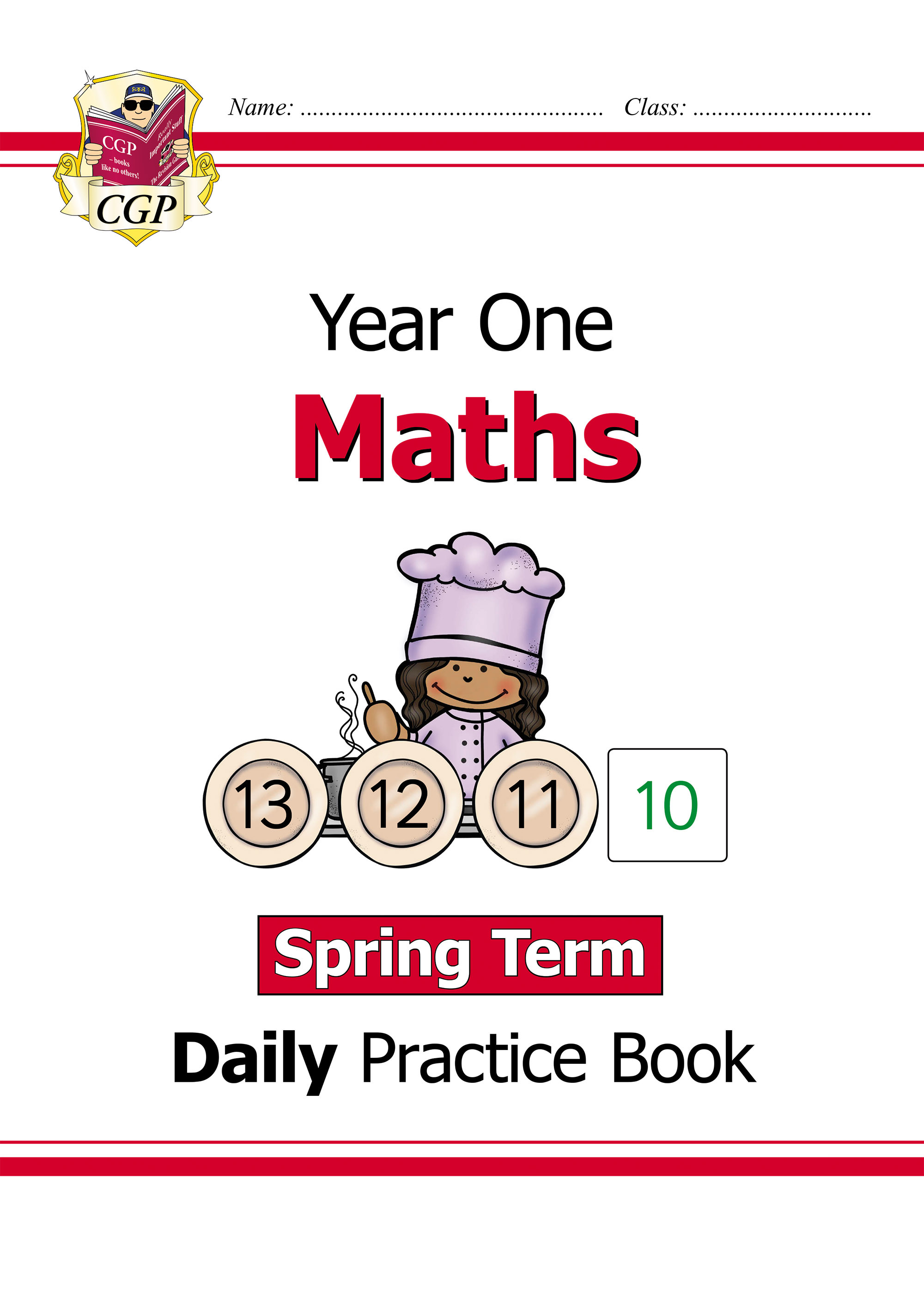 M1WSP11D - New KS1 Maths Daily Practice Book: Year 1 - Spring Term Online Edition