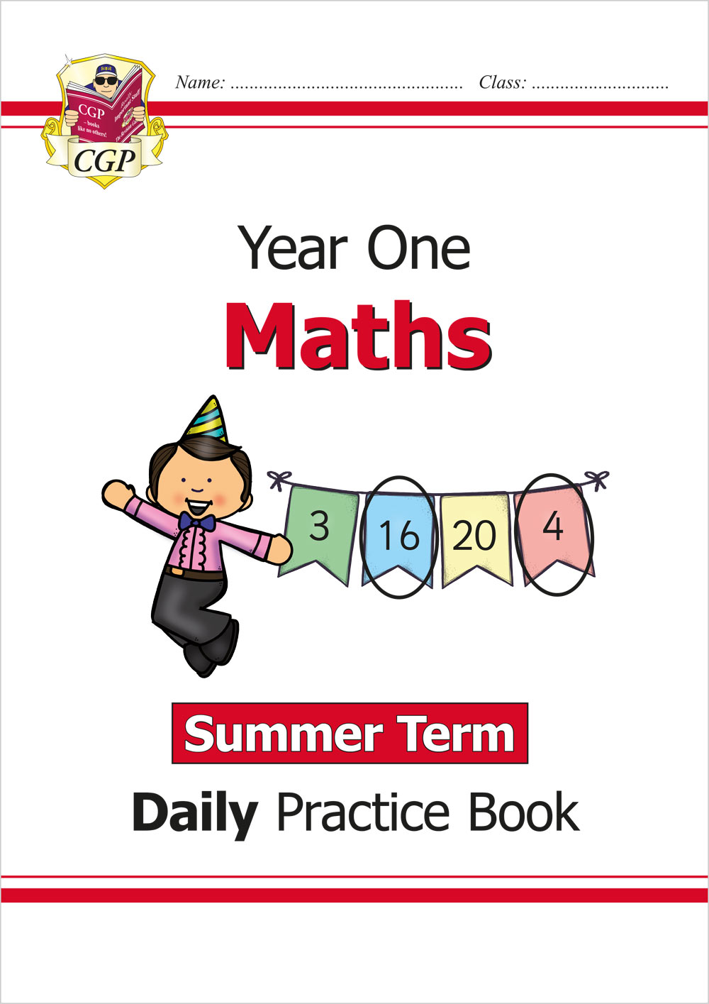M1WSU11 - New KS1 Maths Daily Practice Book: Year 1 - Summer Term