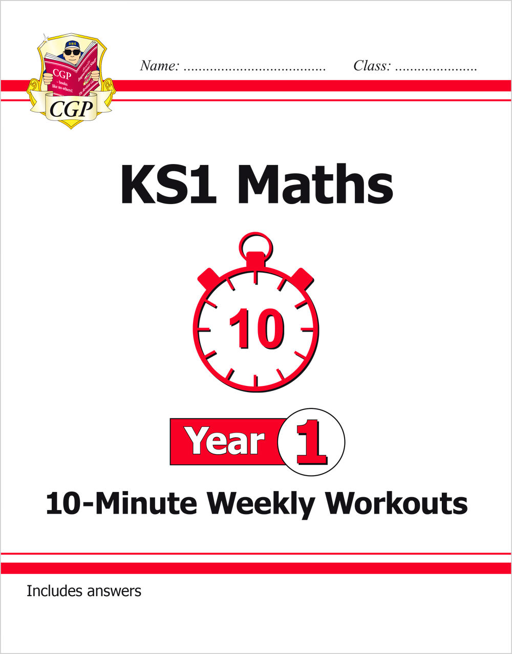 M1XW11 - KS1 Maths 10-Minute Weekly Workouts - Year 1
