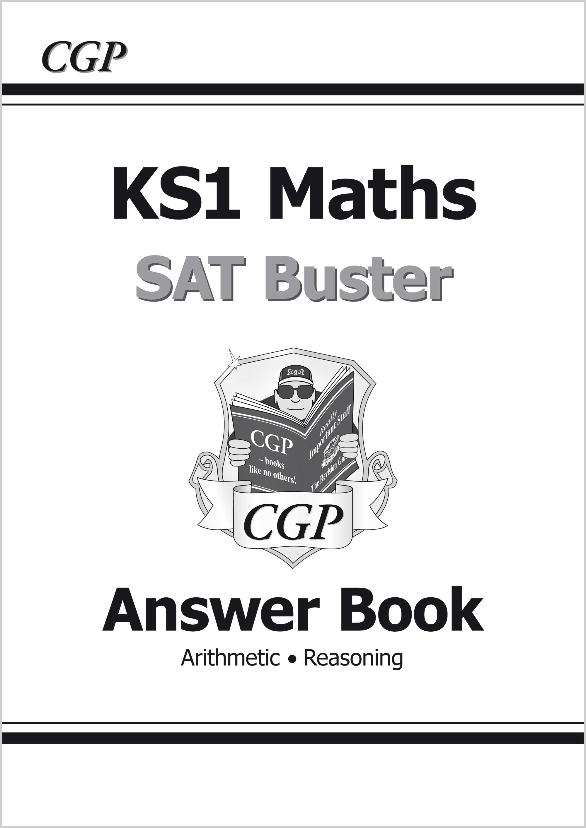M2A11 - KS1 Maths SAT Buster: Answer Book (for the 2020 tests)