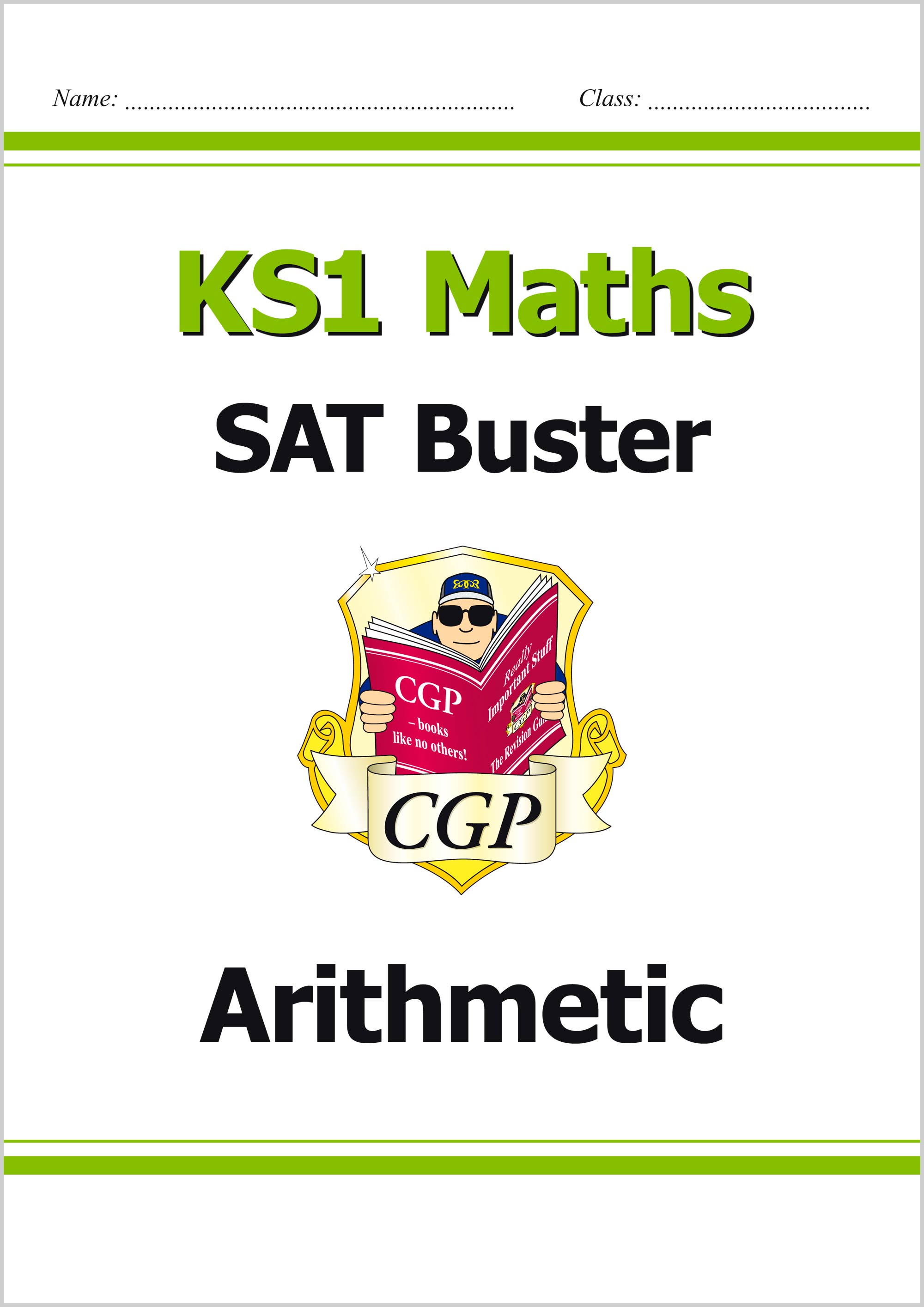 M2ARI11 - KS1 Maths SAT Buster: Arithmetic (for tests in 2018 and beyond)