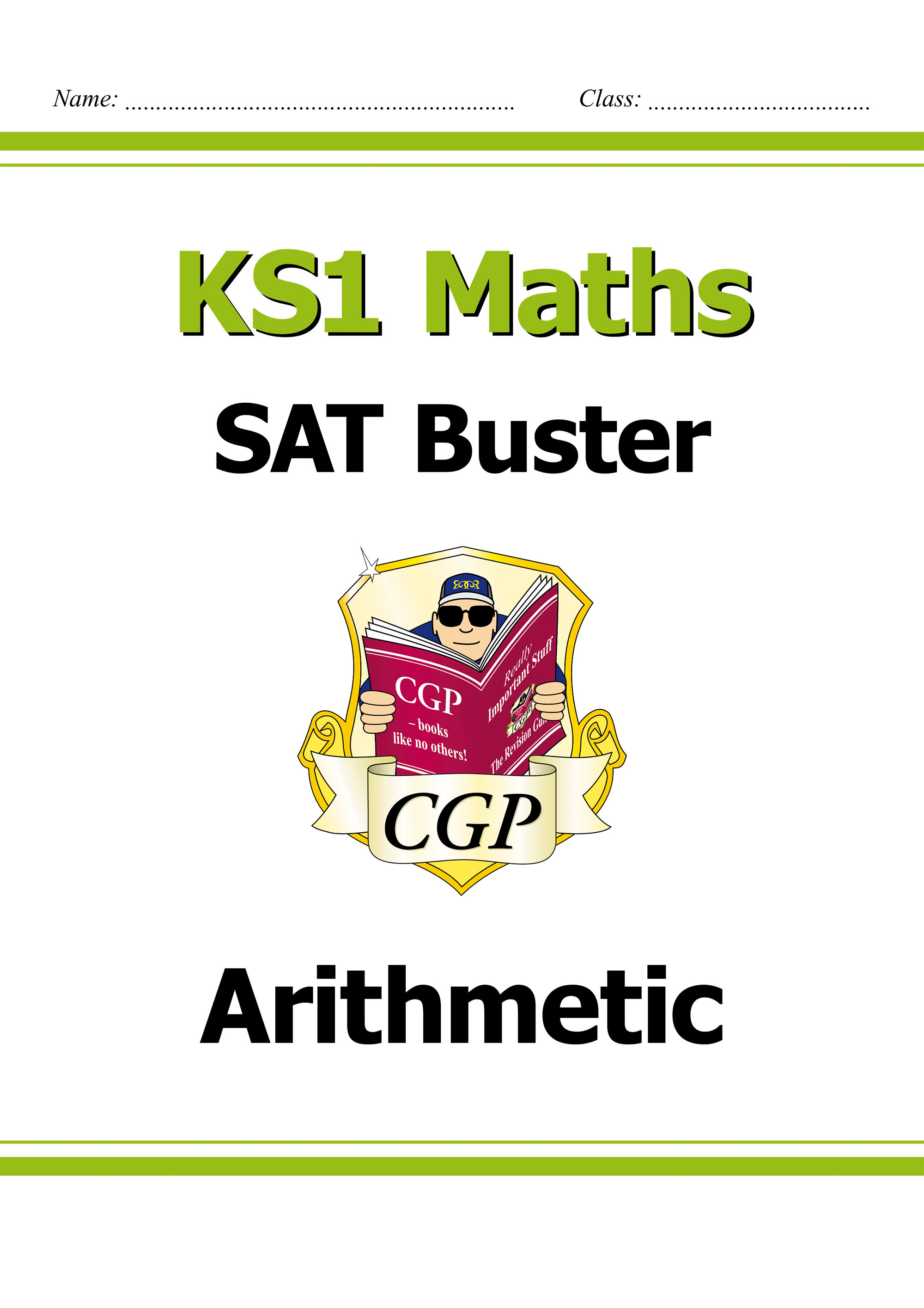 M2ARI11D - KS1 Maths SAT Buster: Arithmetic (for the 2021 tests) Online Edition