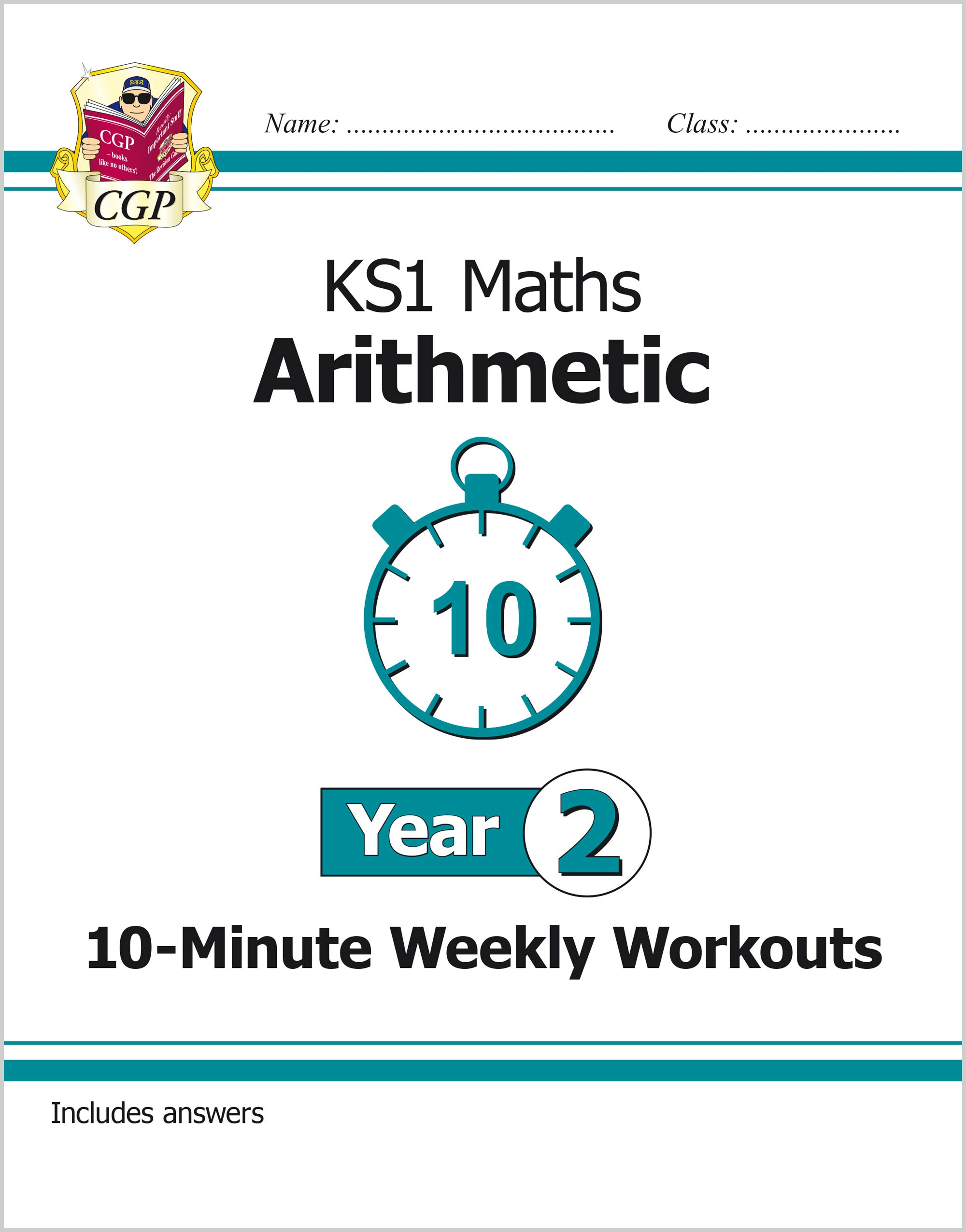 M2ARXW11 - New KS1 Maths 10-Minute Weekly Workouts: Arithmetic - Year 2