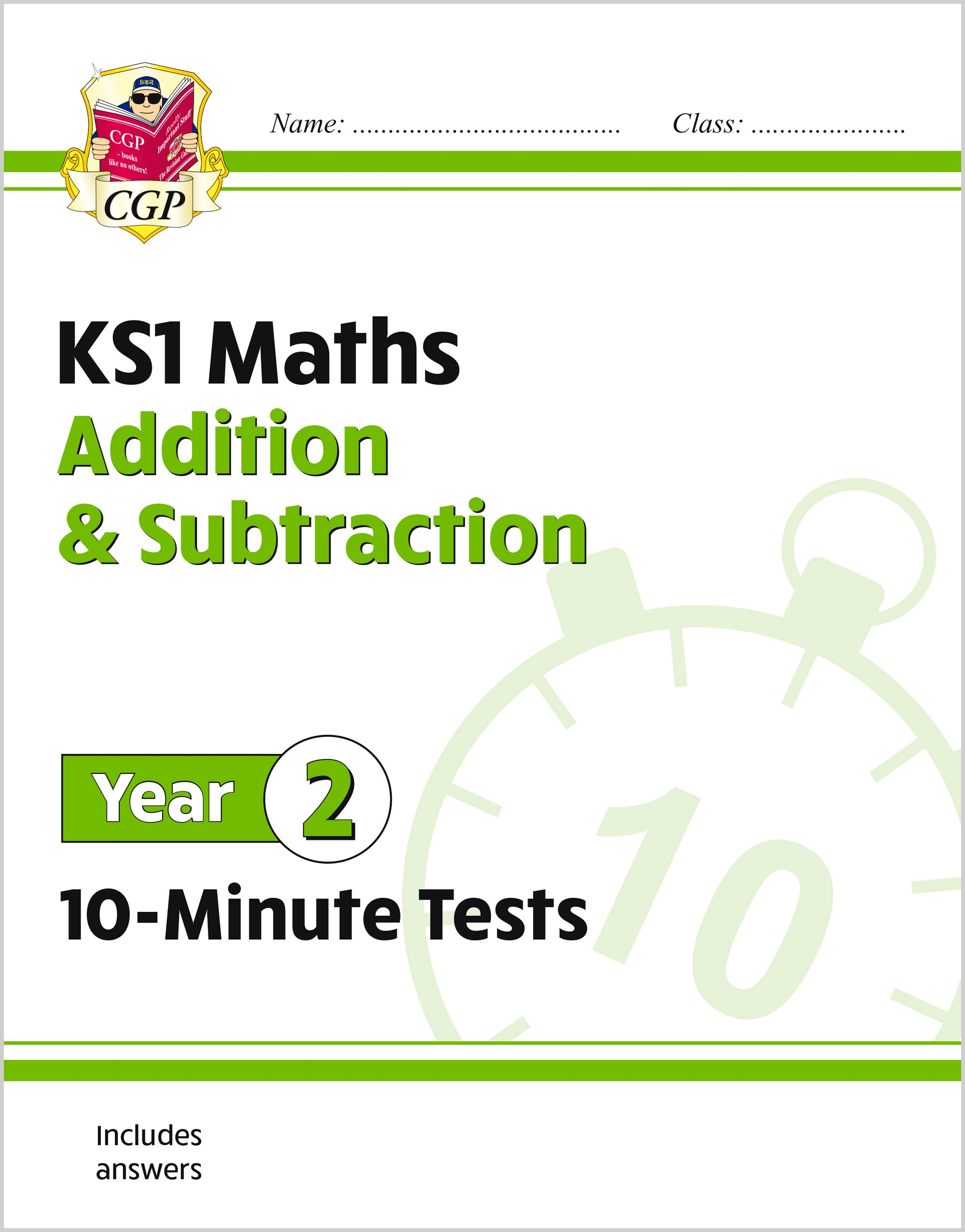 M2ASXP11 - New KS1 Maths 10-Minute Tests: Addition and Subtraction - Year 2