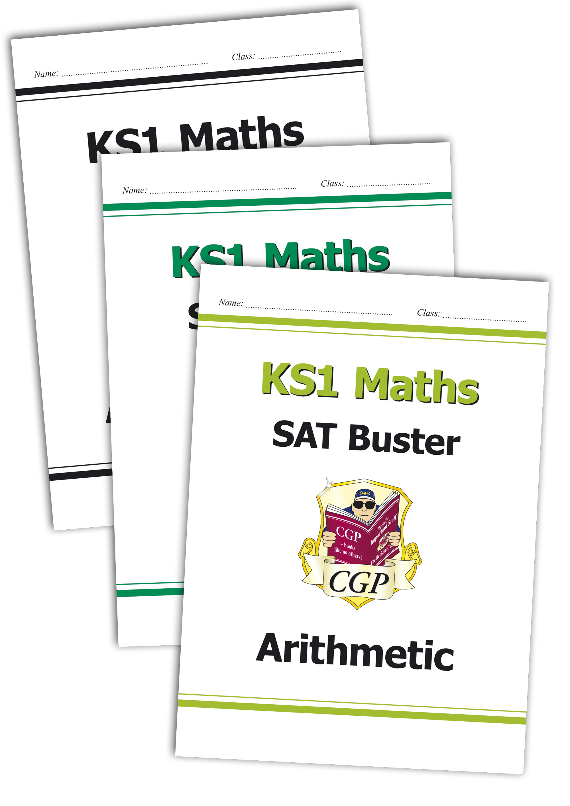 M2B11 - Complete KS1 Maths SAT Buster Bundle - incl answers (for the 2019 tests)