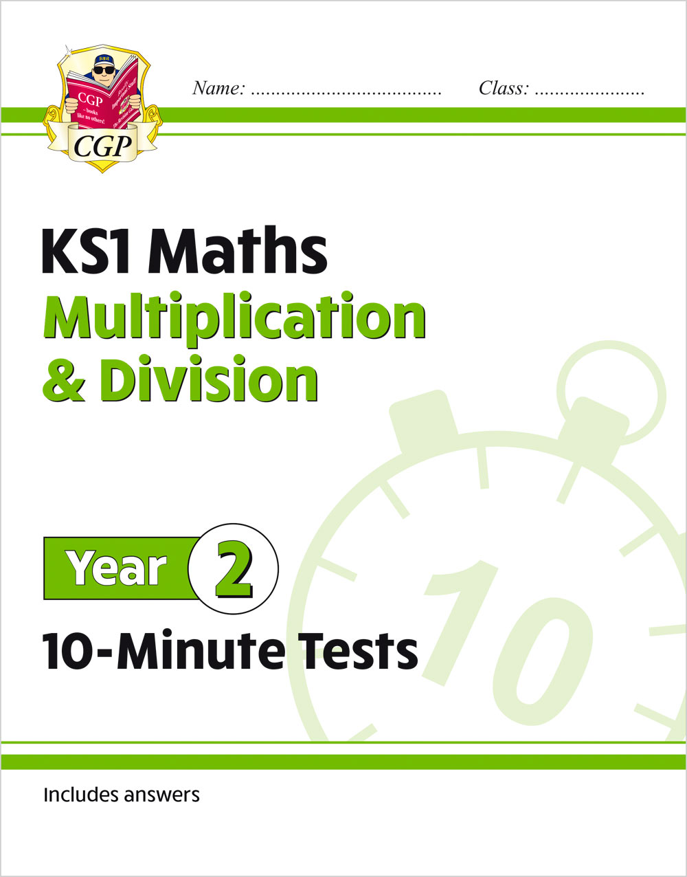 M2MDXP11 - New KS1 Maths 10-Minute Tests: Multiplication & Division - Year 2