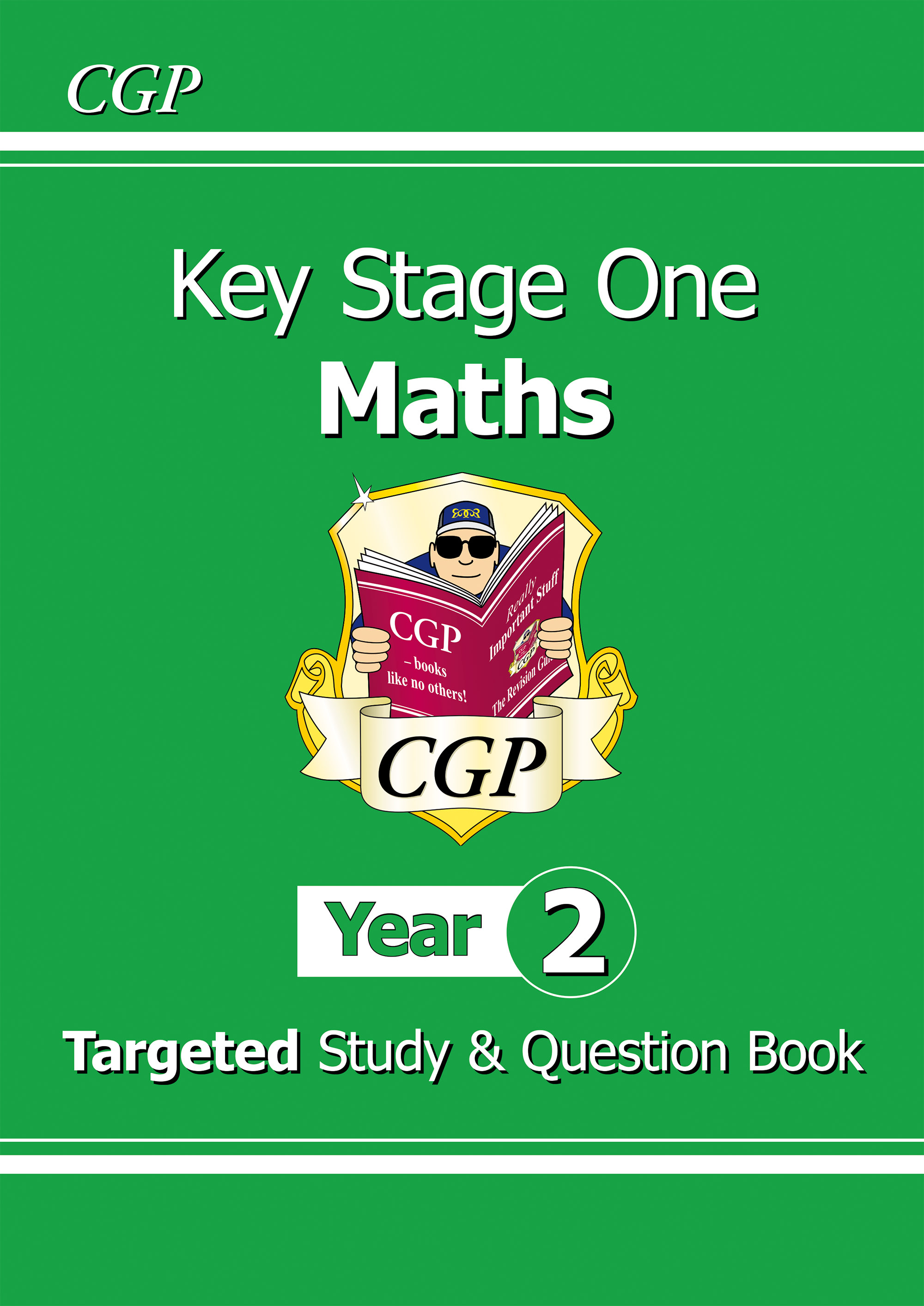 M2R11DK - KS1 Maths Targeted Study & Question Book - Year 2