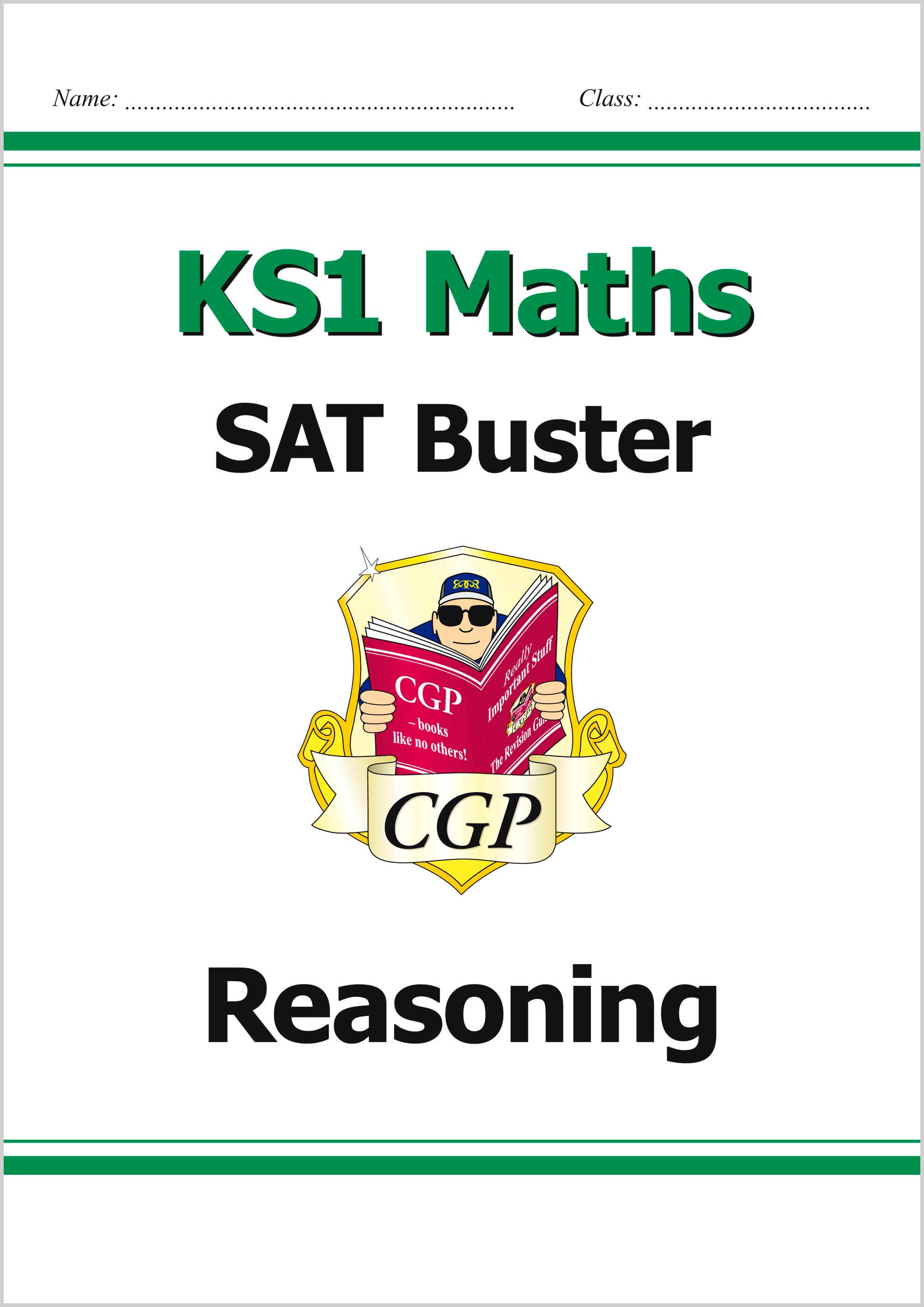 M2RE11 - KS1 Maths SAT Buster: Reasoning (for the 2019 tests)