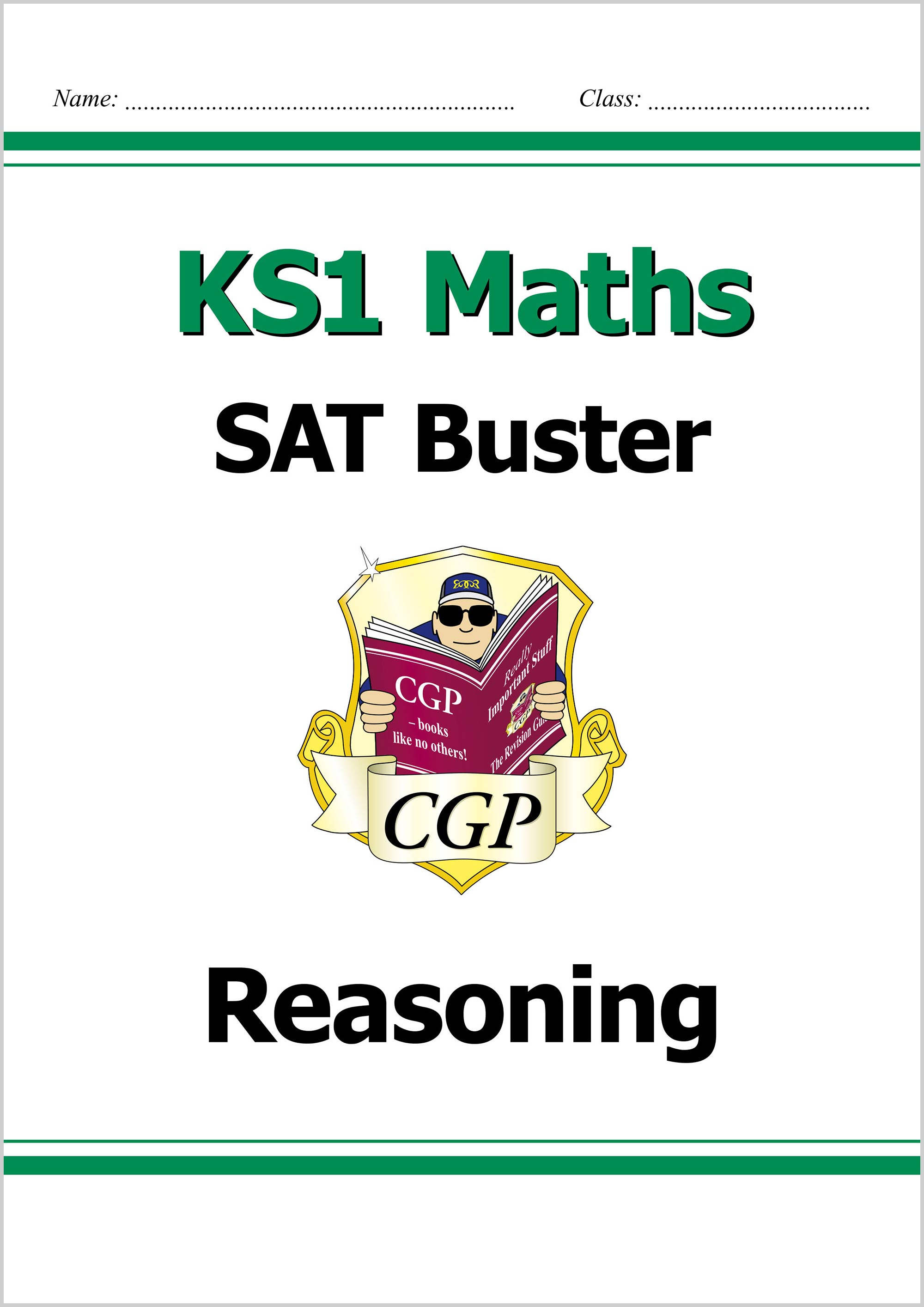 M2RE11DK - KS1 Maths SAT Buster: Reasoning (for the 2019 tests)