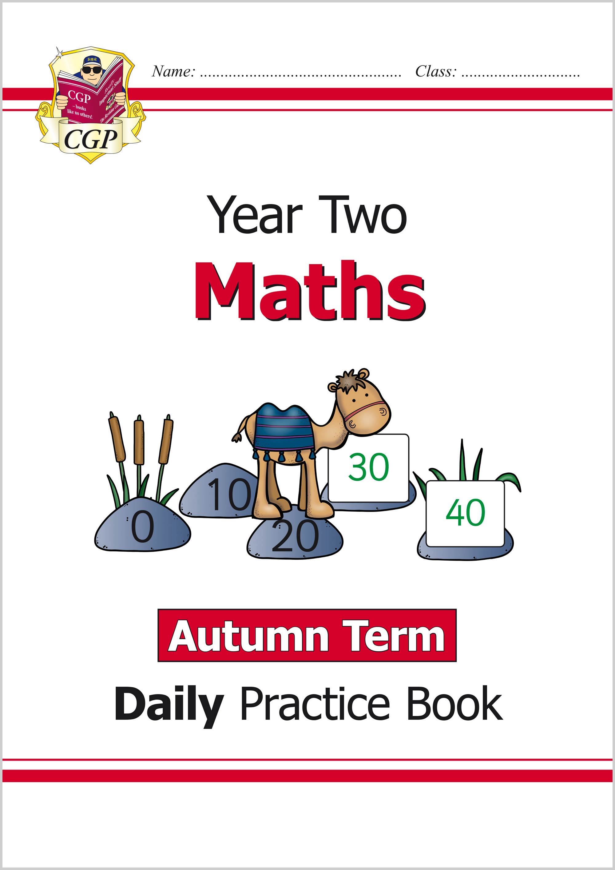 M2WAU11 - New KS1 Maths Daily Practice Book: Year 2 - Autumn Term