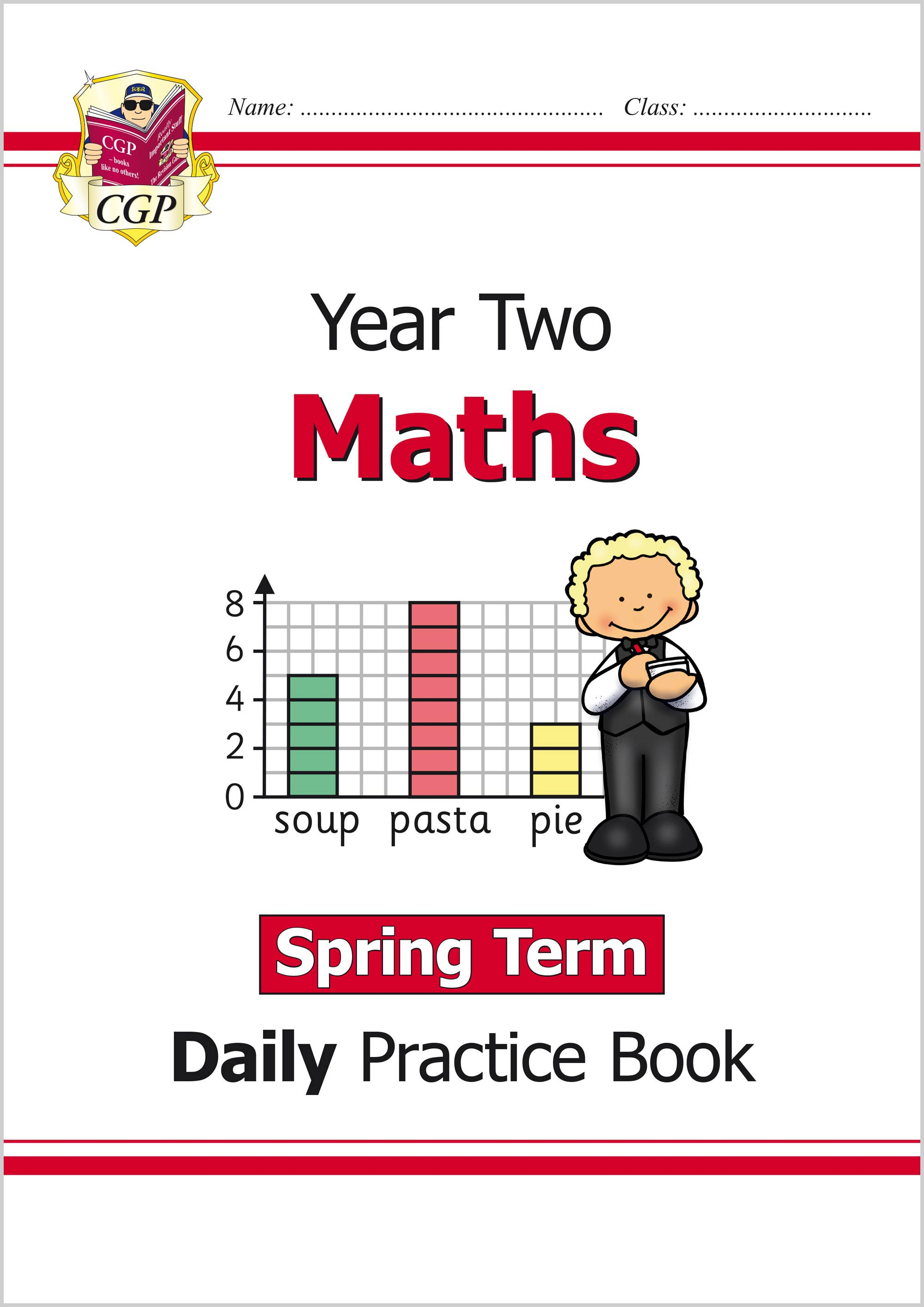 M2WSP11 - New KS1 Maths Daily Practice Book: Year 2 - Spring Term