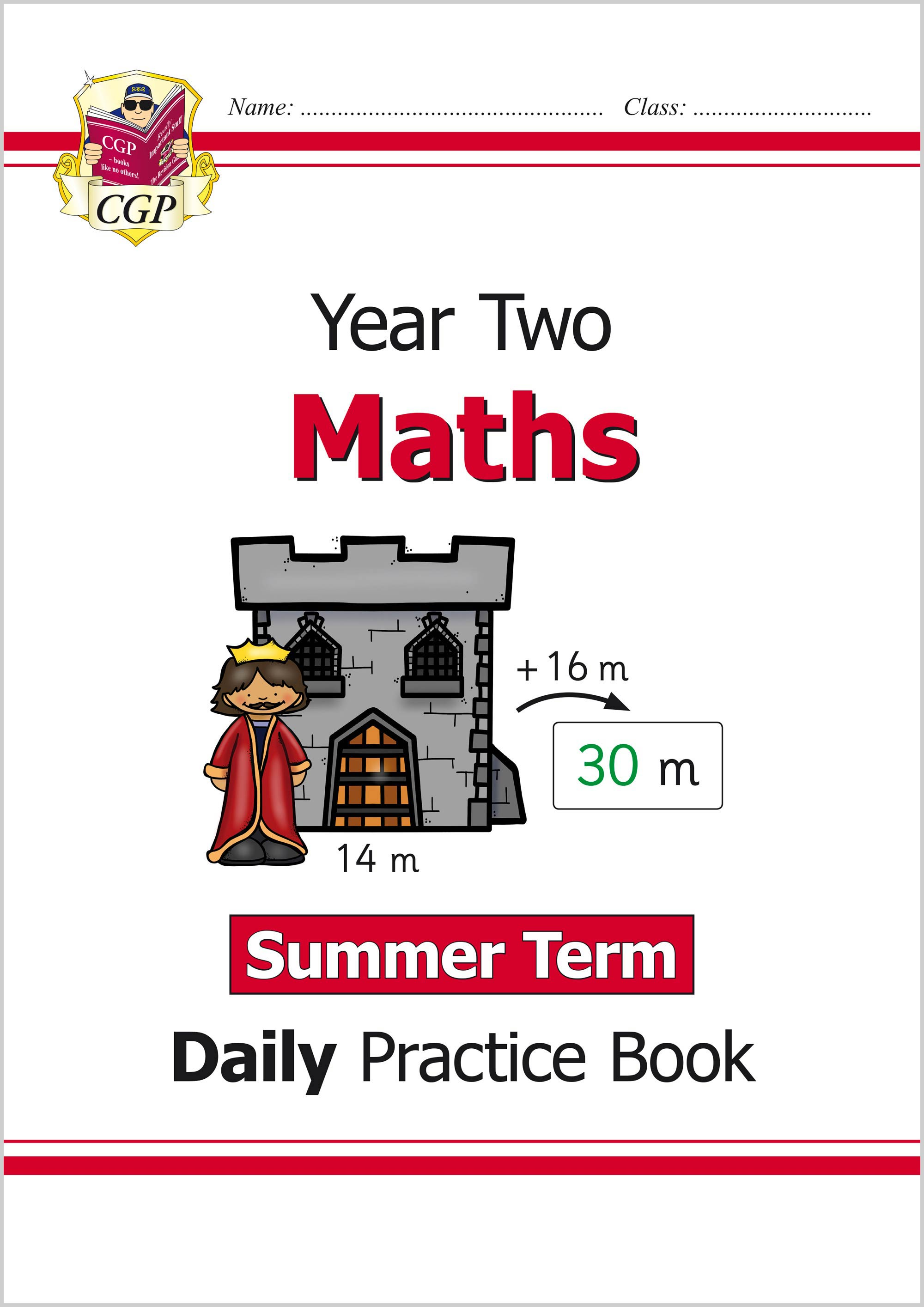 M2WSU11 - New KS1 Maths Daily Practice Book: Year 2 - Summer Term