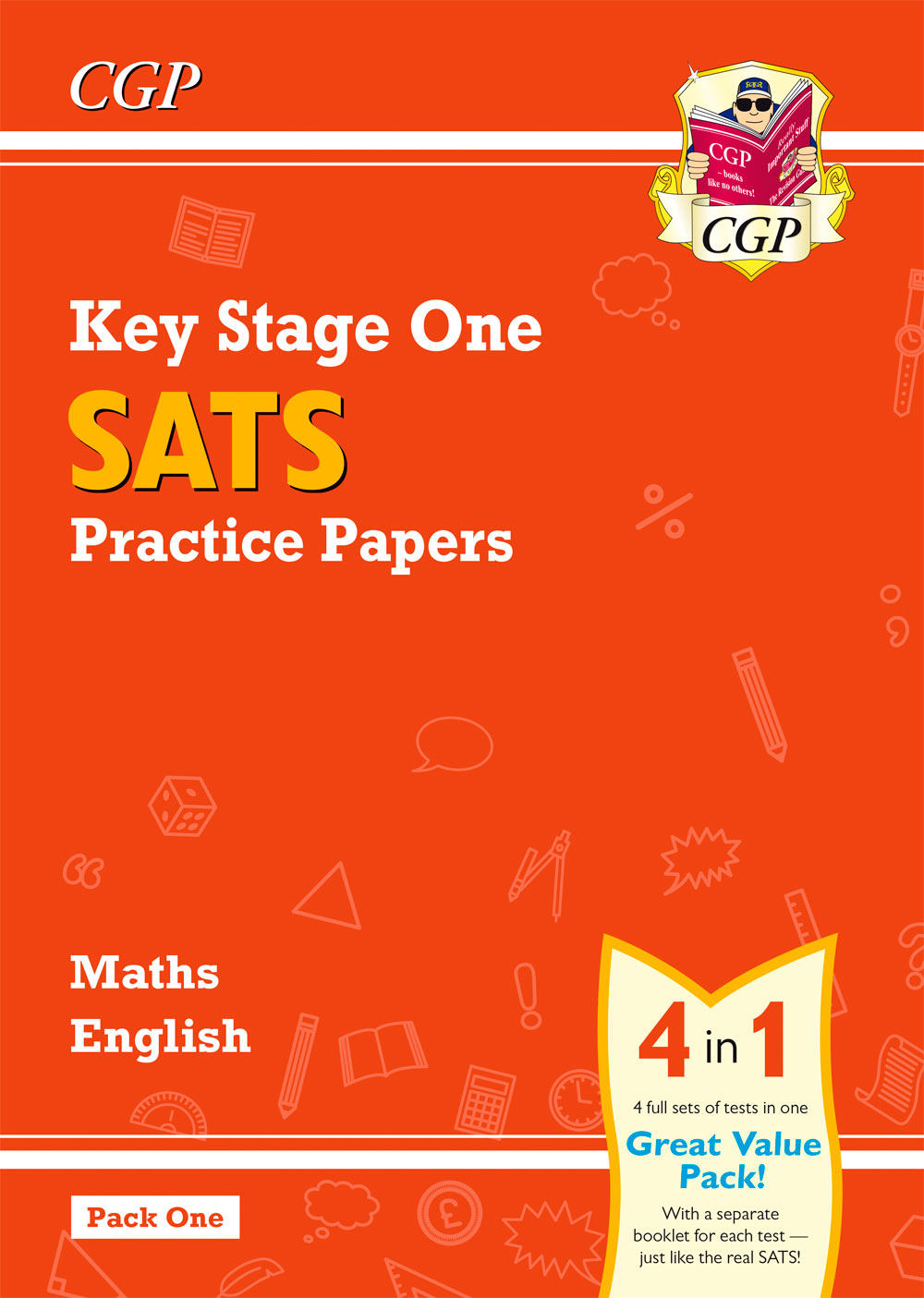MEB16 - New KS1 Maths and English SATS Practice Papers Pack (for the 2019 tests) - Pack 1