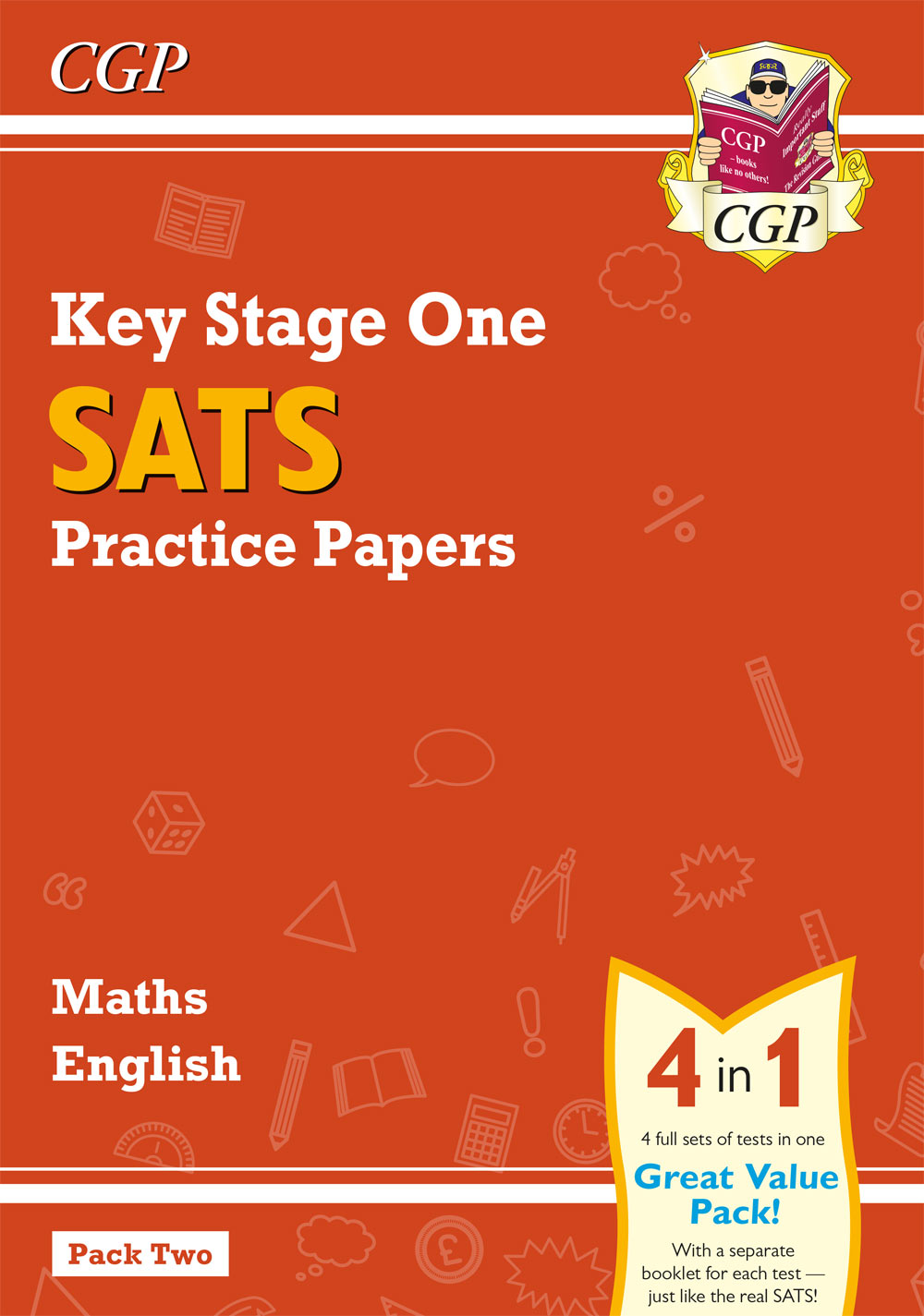MEB213 - New KS1 Maths and English SATS Practice Papers Pack (for the 2019 tests) - Pack 2
