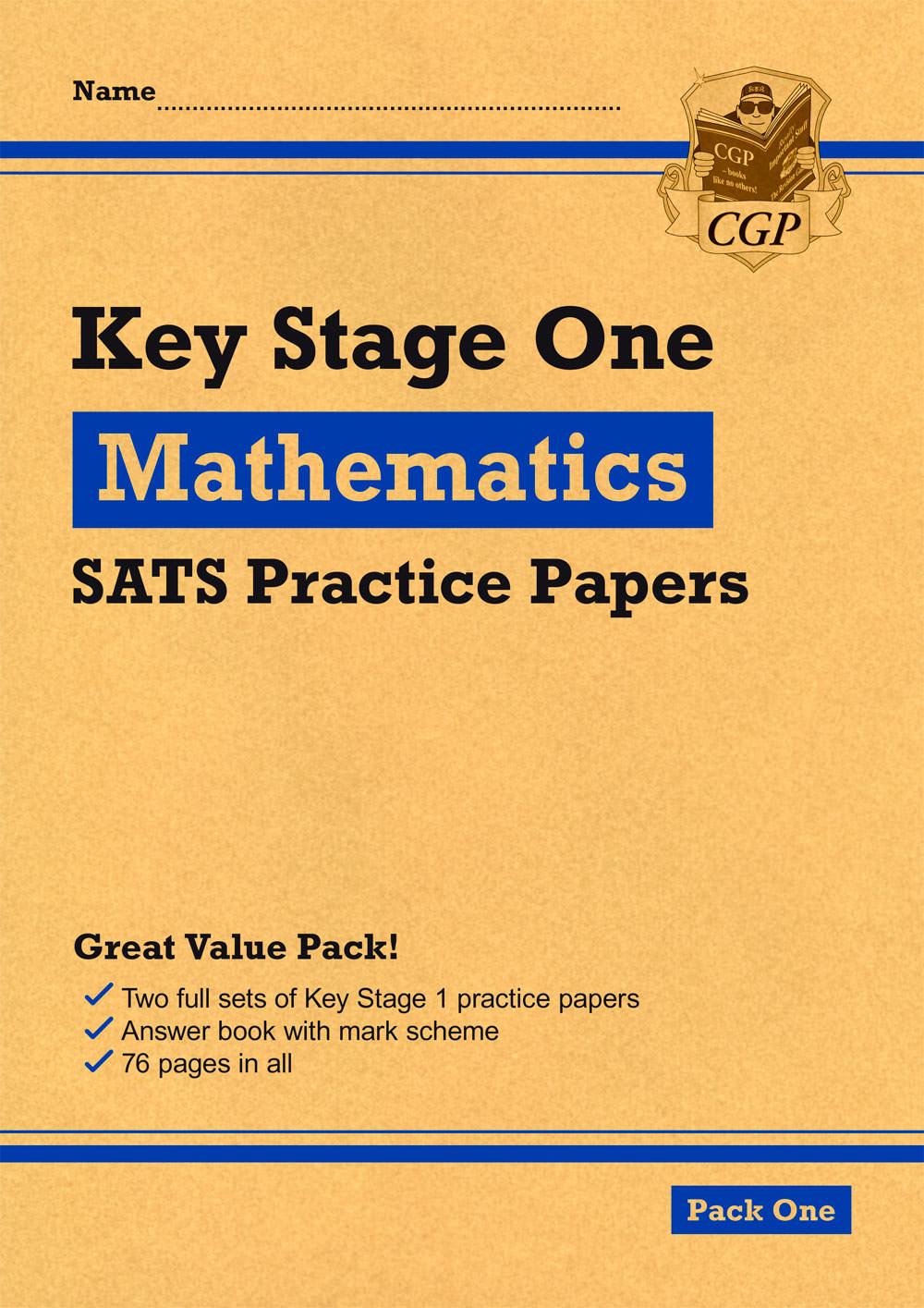 MHEP14 - KS1 Maths SATS Practice Papers: Pack 1