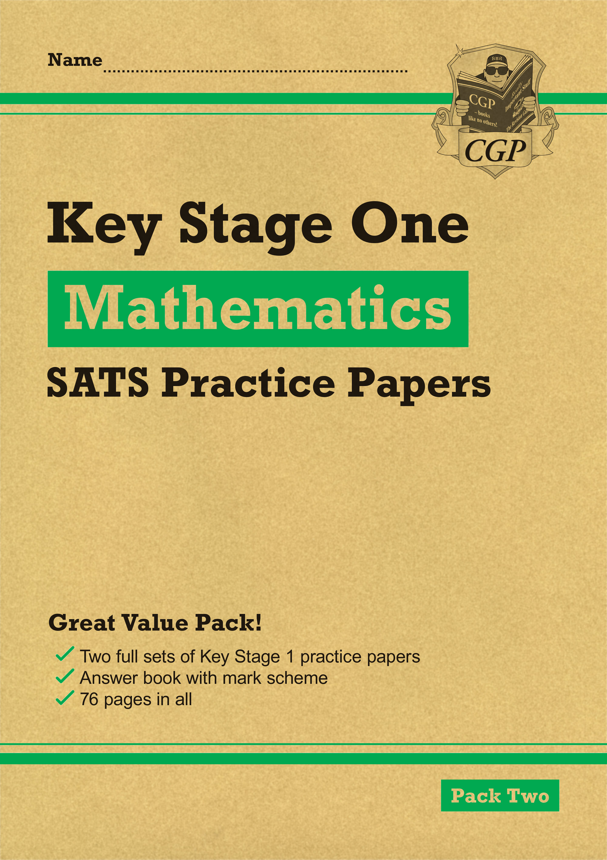 MHGP13 - New KS1 Maths SATS Practice Papers: Pack 2 (for the 2020 tests)
