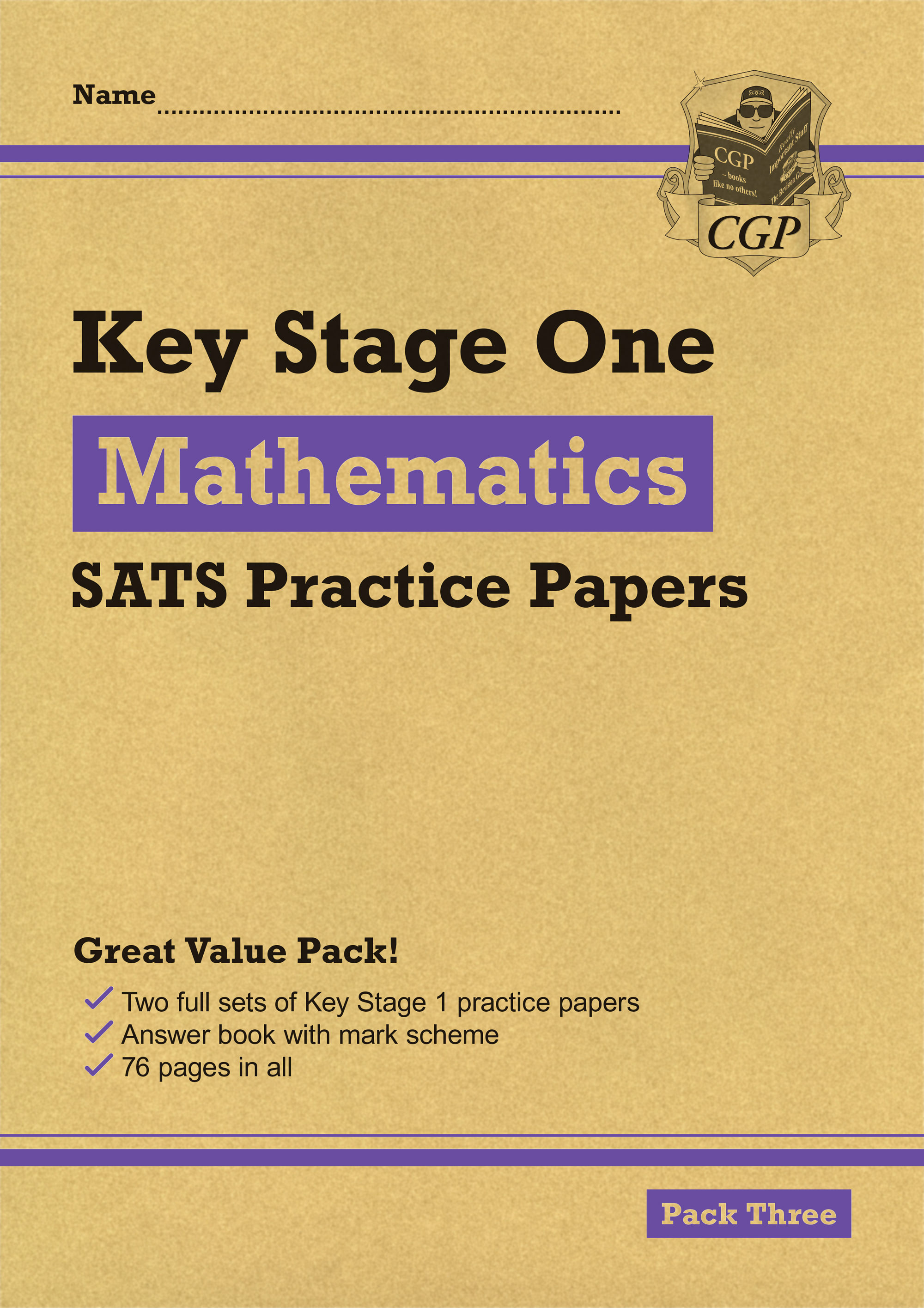 MHPP13 - New KS1 Maths SATS Practice Papers: Pack 3 (for the 2019 tests)