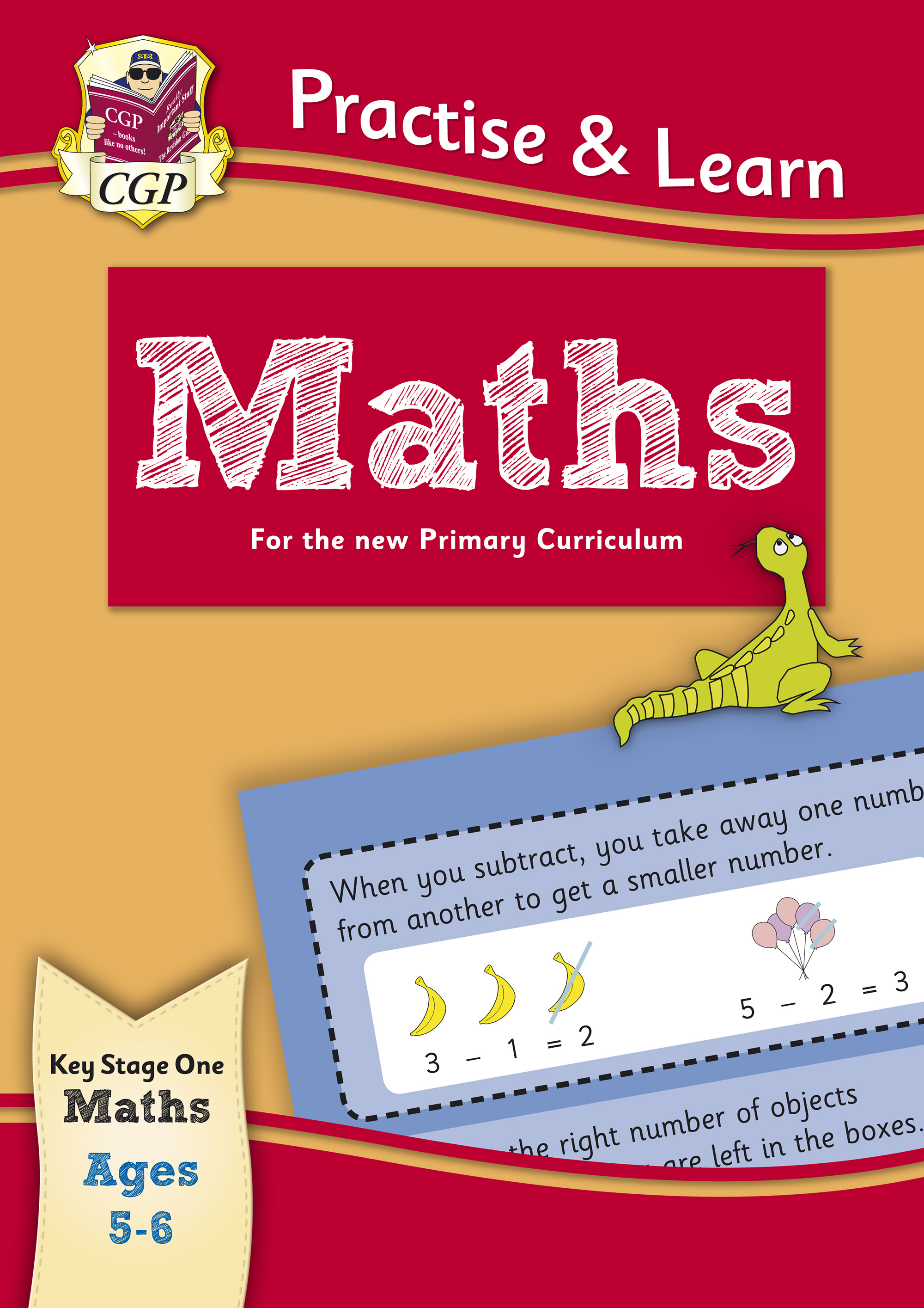 MP1Q12 - New Practise & Learn: Maths for Ages 5-6