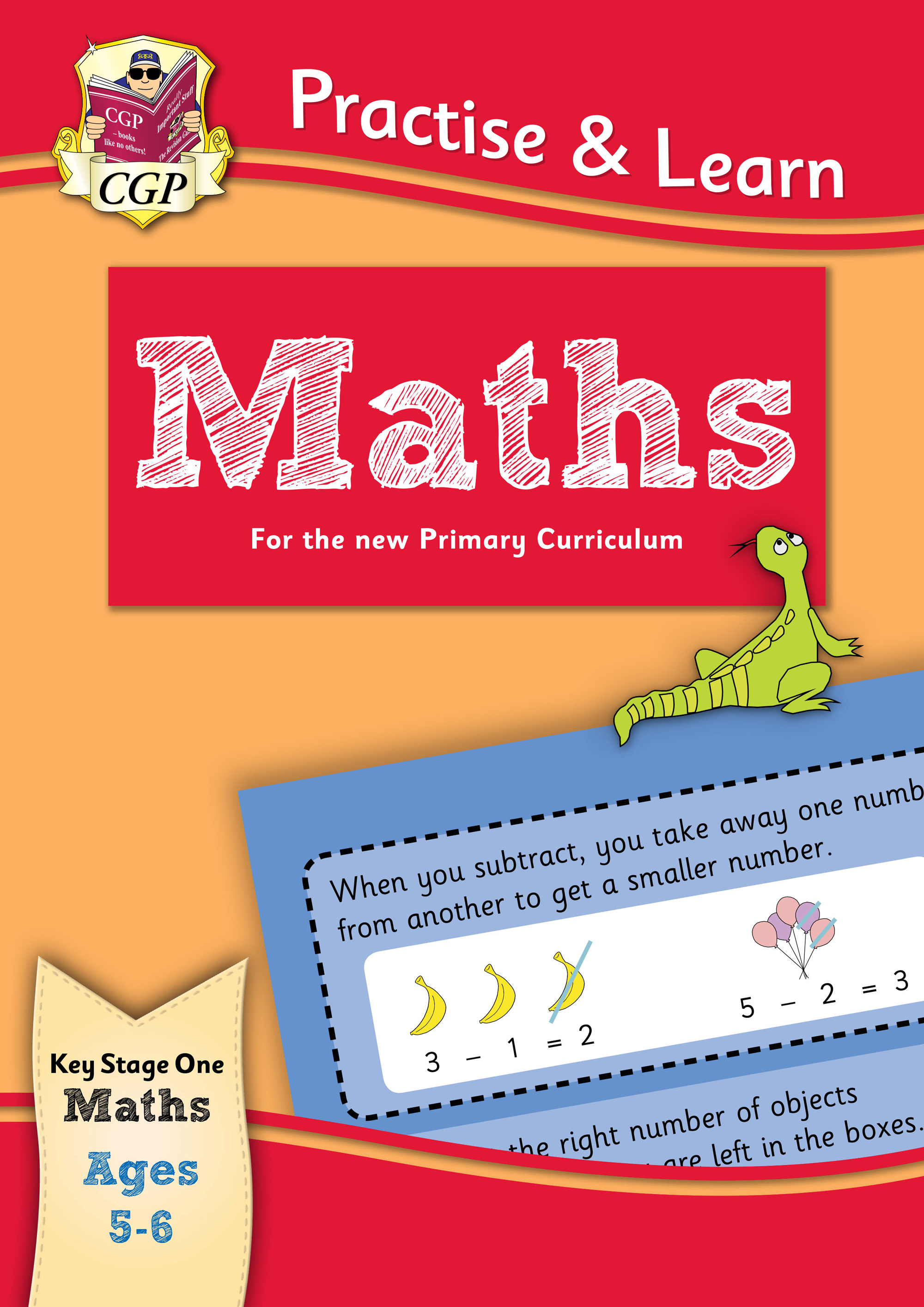 MP1Q12DK - New Curriculum Practise & Learn: Maths for Ages 5-6