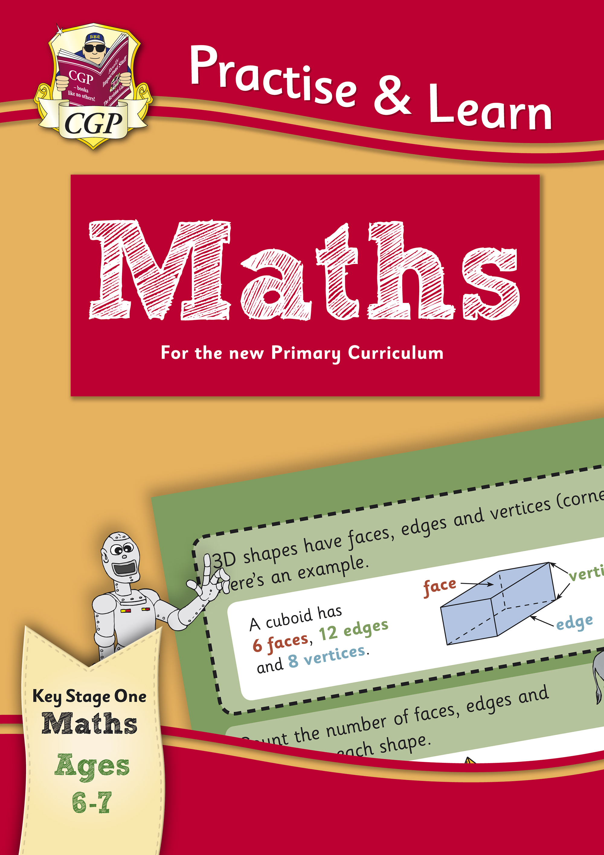 MP2Q12 - New Curriculum Practise & Learn: Maths for Ages 6-7