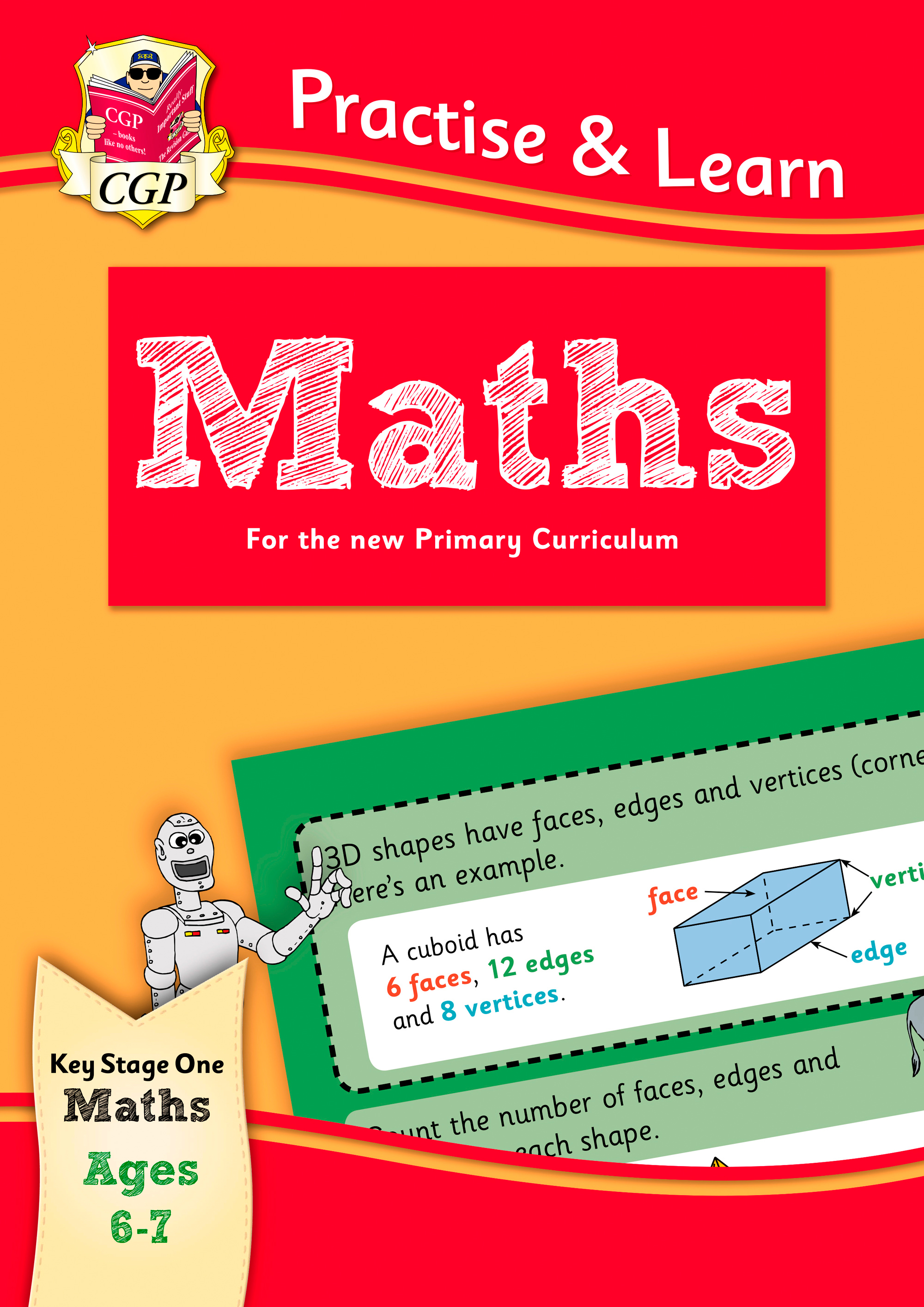 MP2Q12DK - New Curriculum Practise & Learn: Maths for Ages 6-7