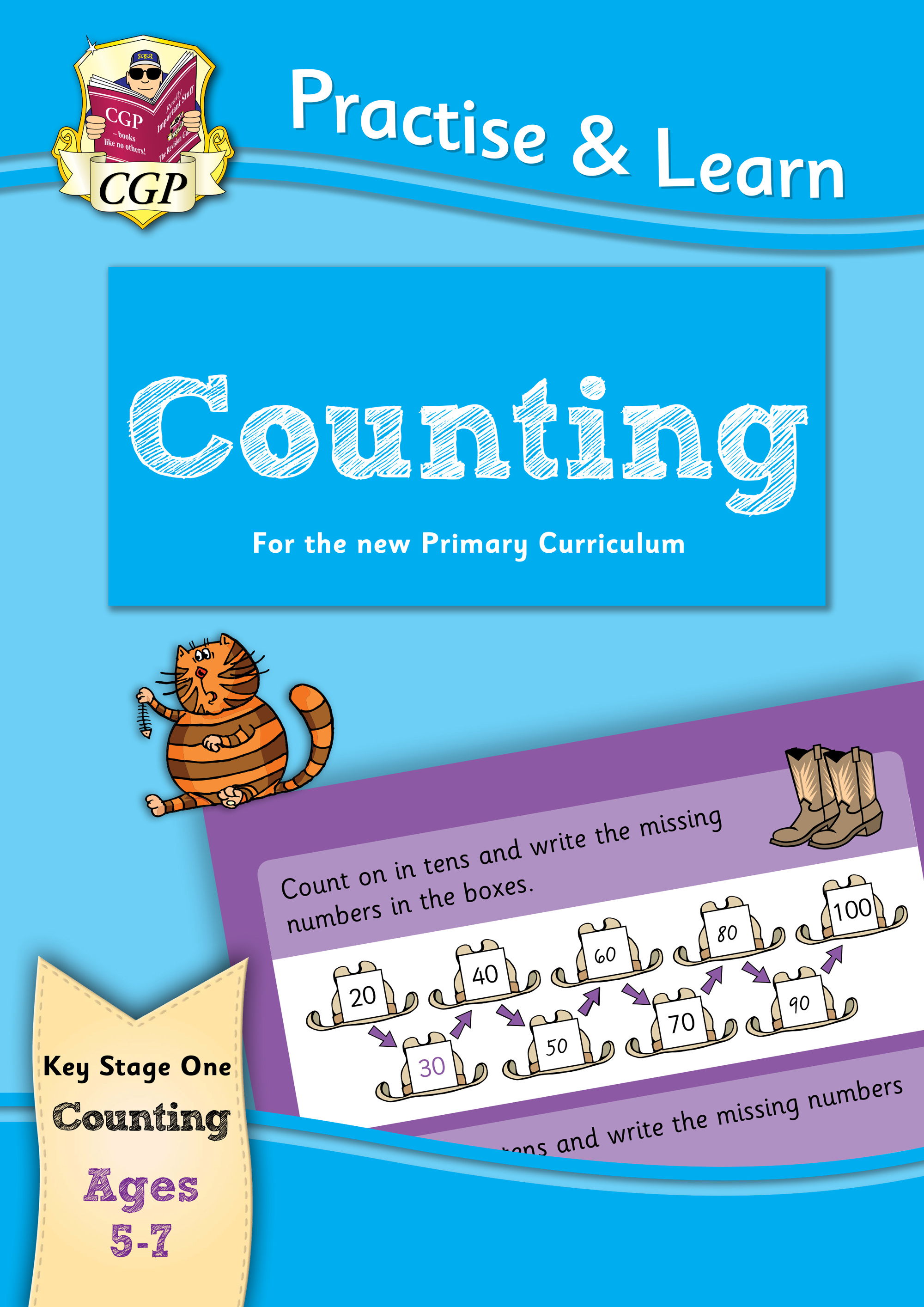 MPCN12DK - New Curriculum Practise & Learn: Counting for Ages 5-7