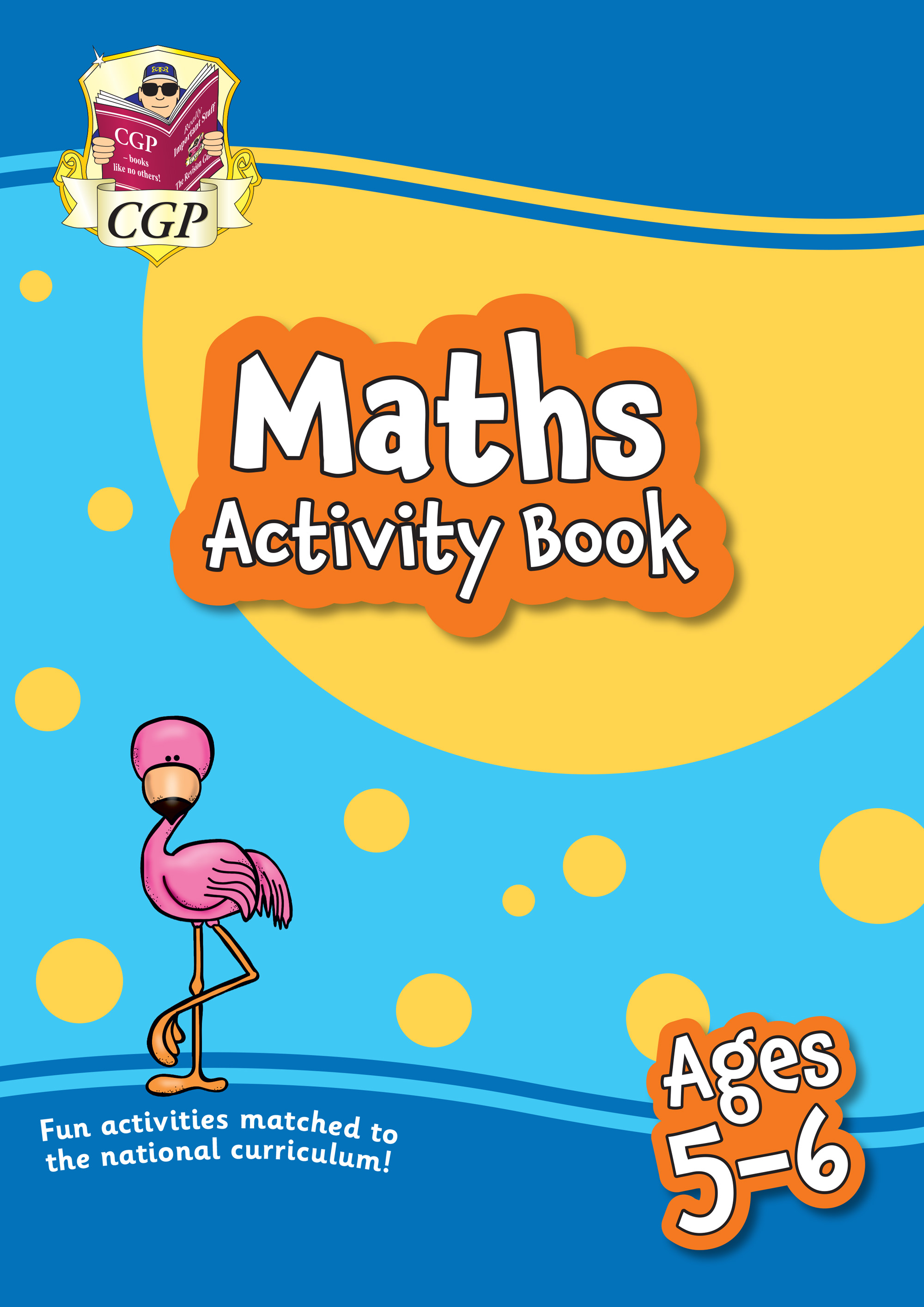 MPF1Q11 - New Maths Home Learning Activity Book for Ages 5-6
