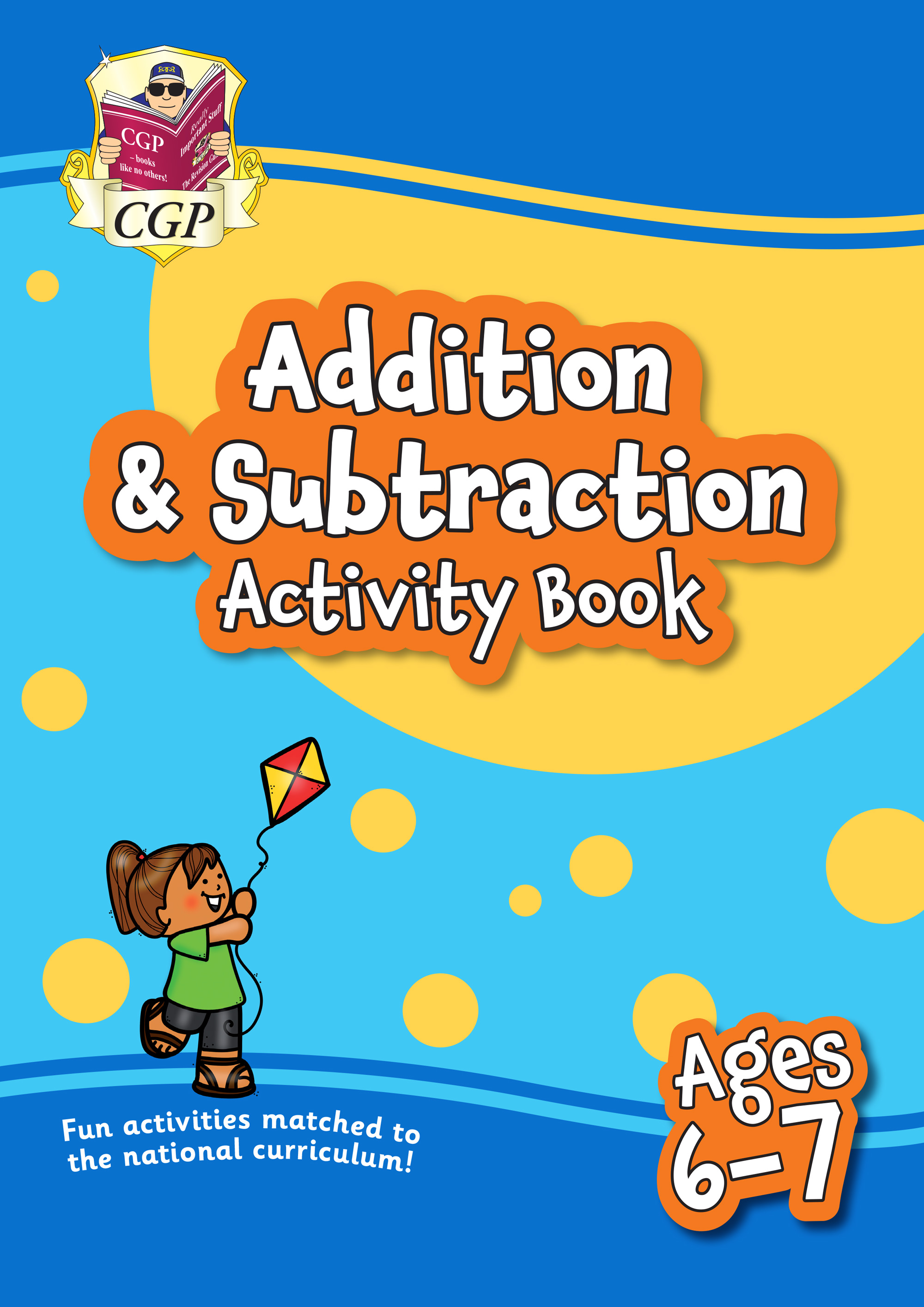 MPFAS2Q11 - New Addition & Subtraction Home Learning Activity Book for Ages 6-7