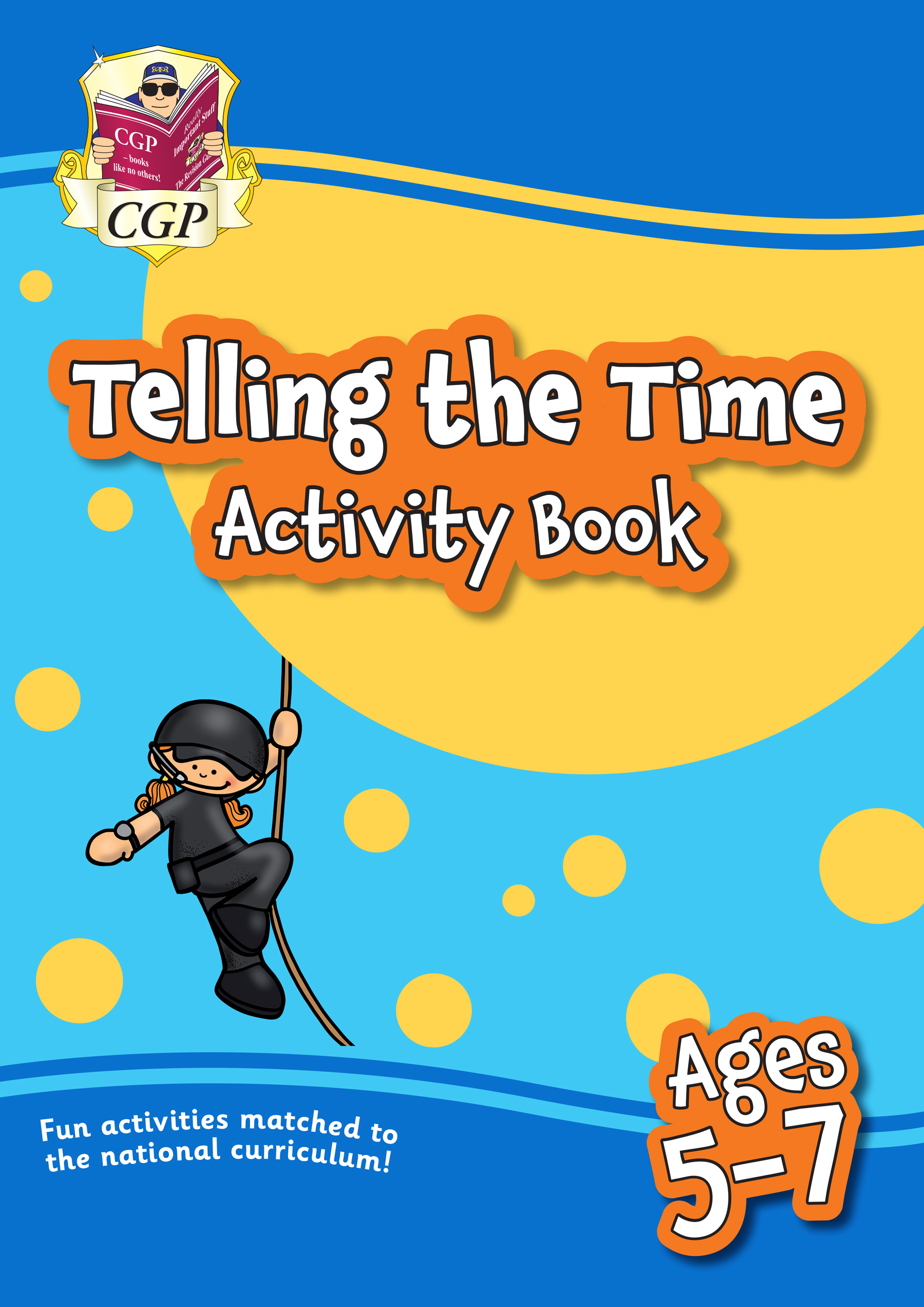 MPFTI11 - New Telling the Time Activity Book for Ages 5-7: perfect for home learning