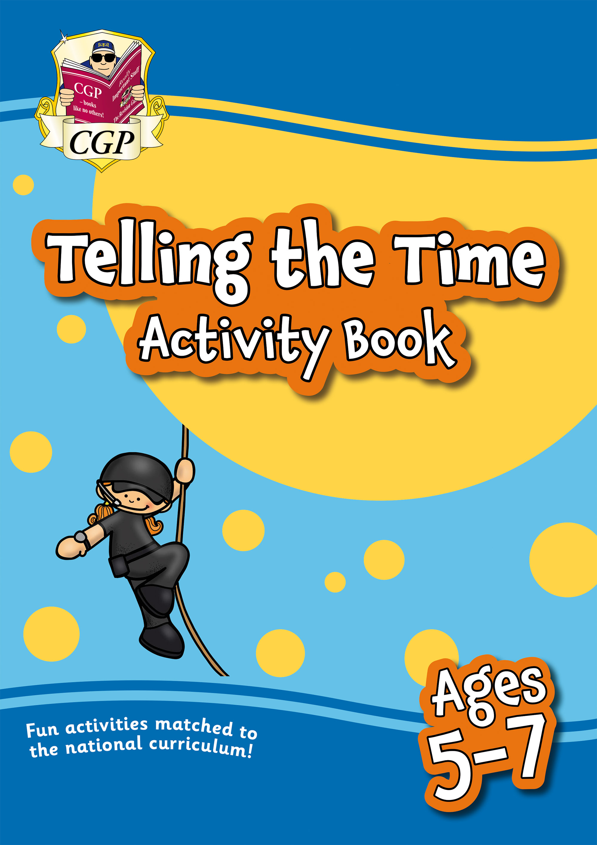 MPFTI11D - New Telling the Time Activity Book for Ages 5-7: Perfect for Catch-Up and Home Learning O