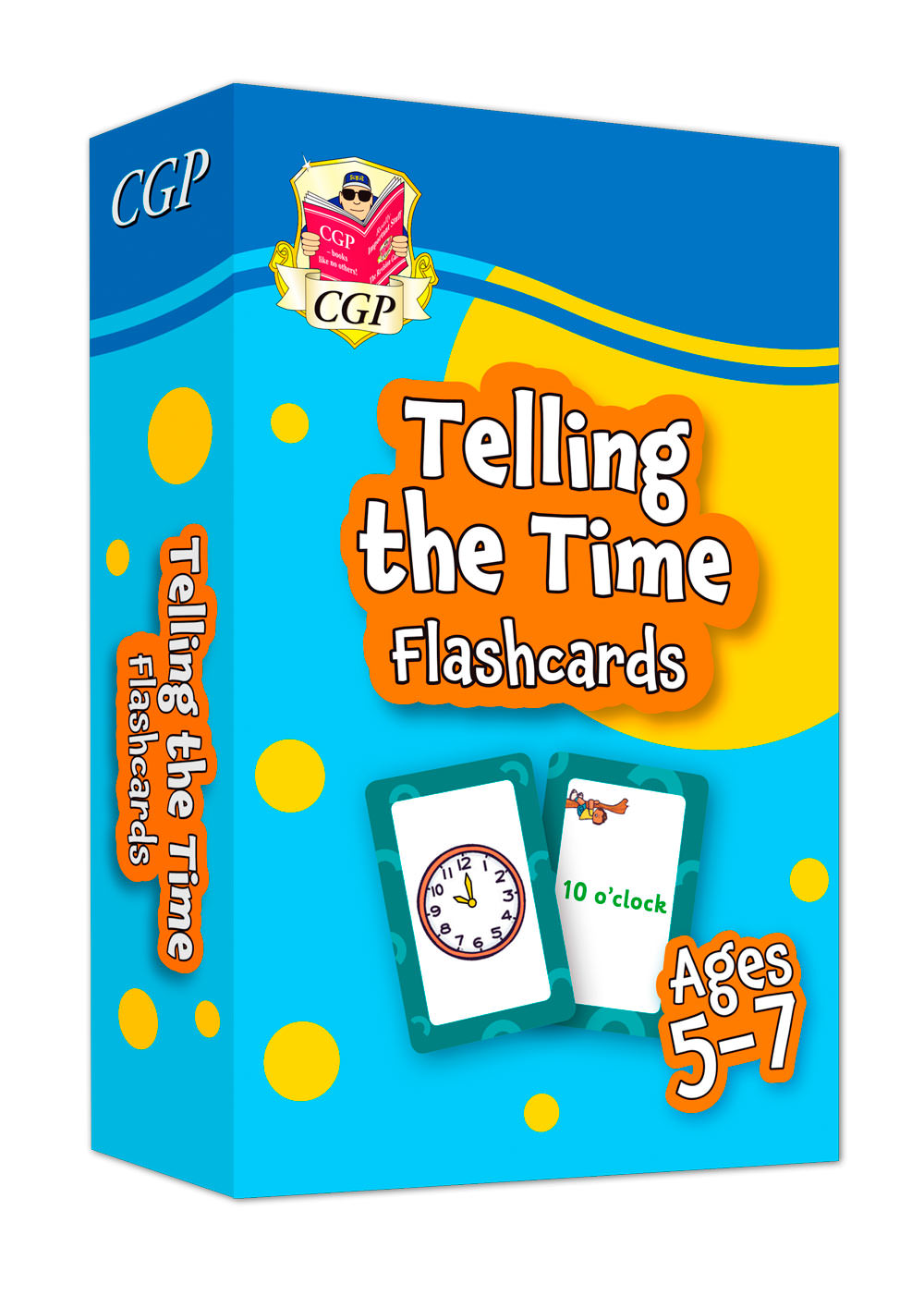 MPFTIF11 - New Telling the Time Home Learning Flashcards for Ages 5-7