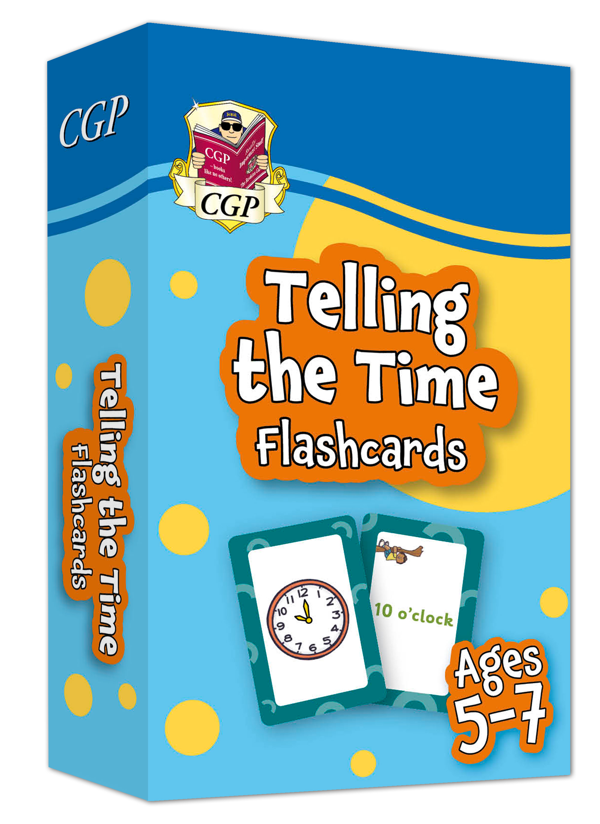 MPFTIF11DK - New Telling the Time Home Learning Flashcards for Ages 5-7